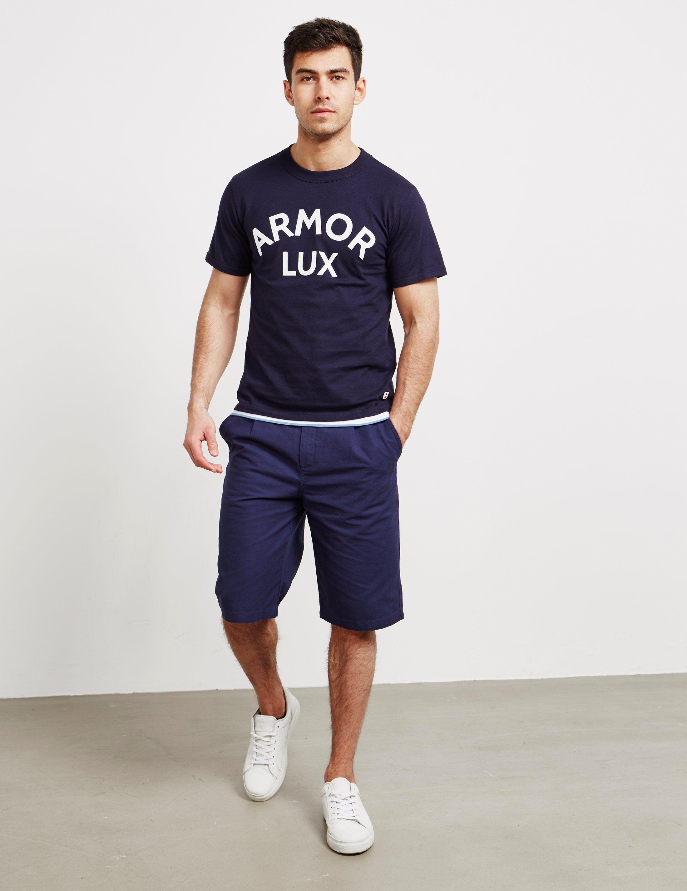 Armor Lux Logo Short Sleeve T-Shirt