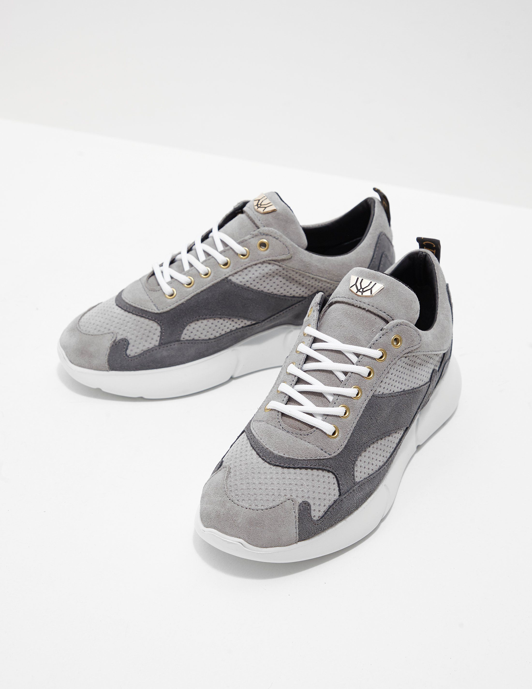 MERCER W3RD Suede Trainers - Online Exclusive