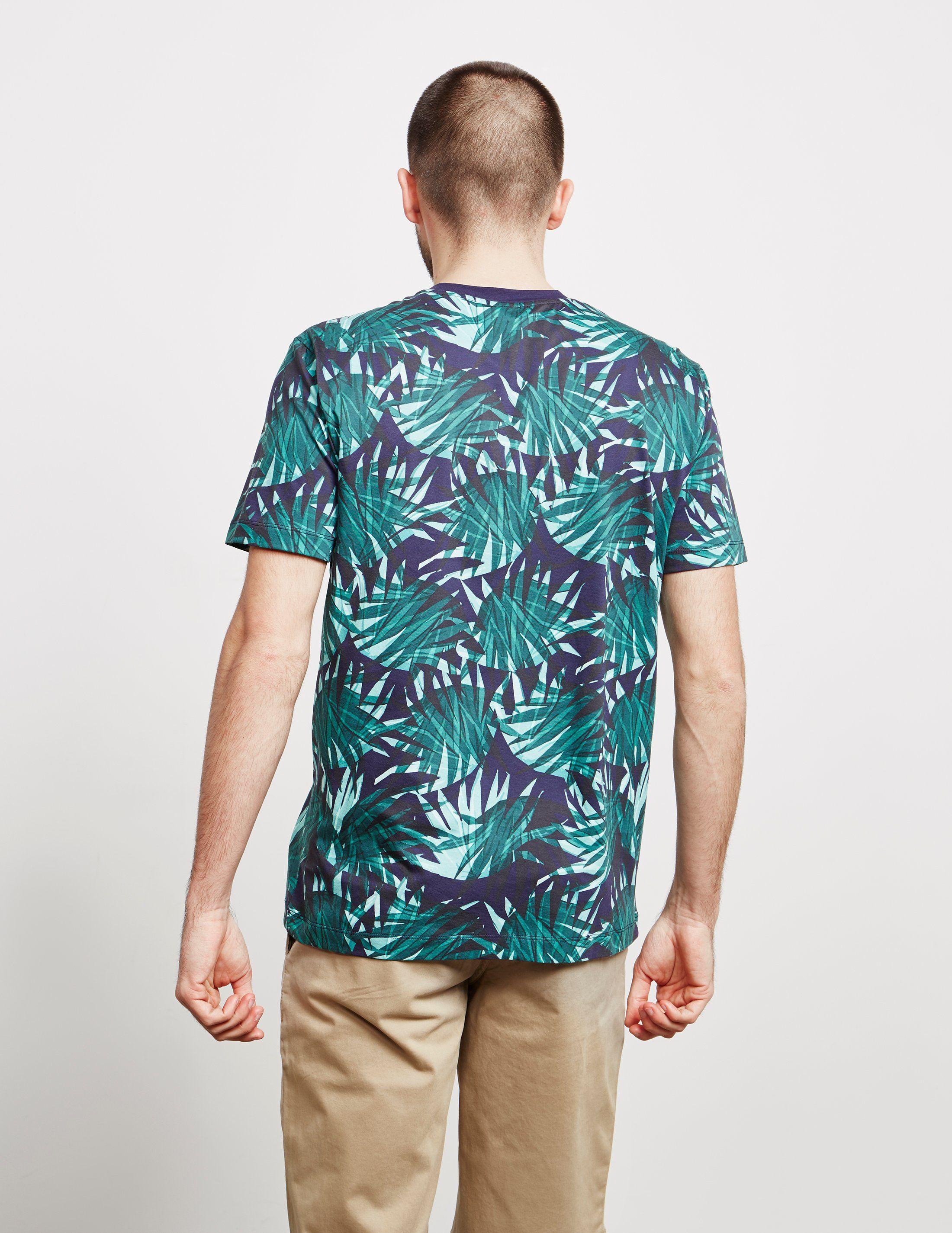 BOSS Short Sleeve Leaf T-Shirt - Online Exclusive