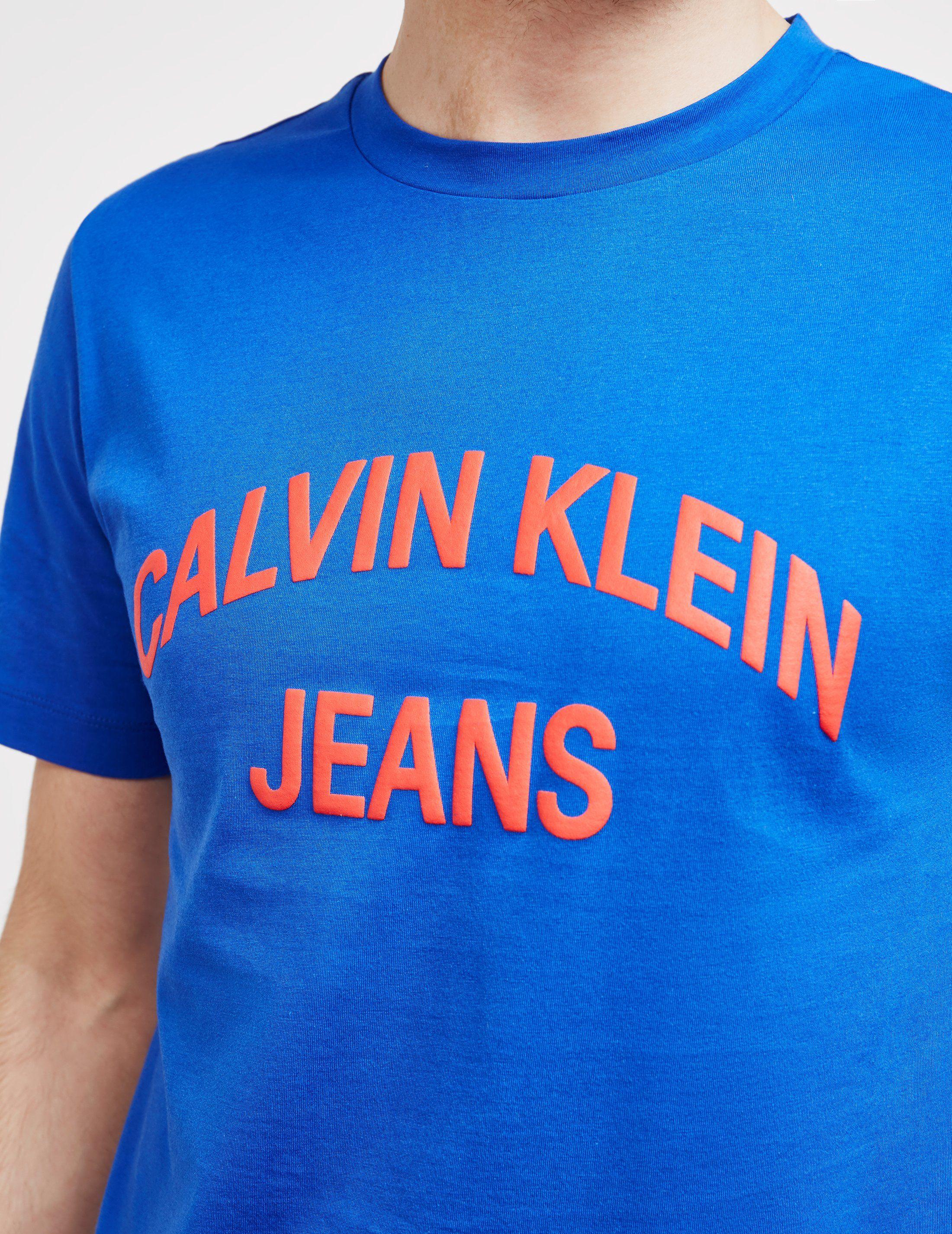 Calvin Klein Jeans Arch Logo Short Sleeve T-Shirt
