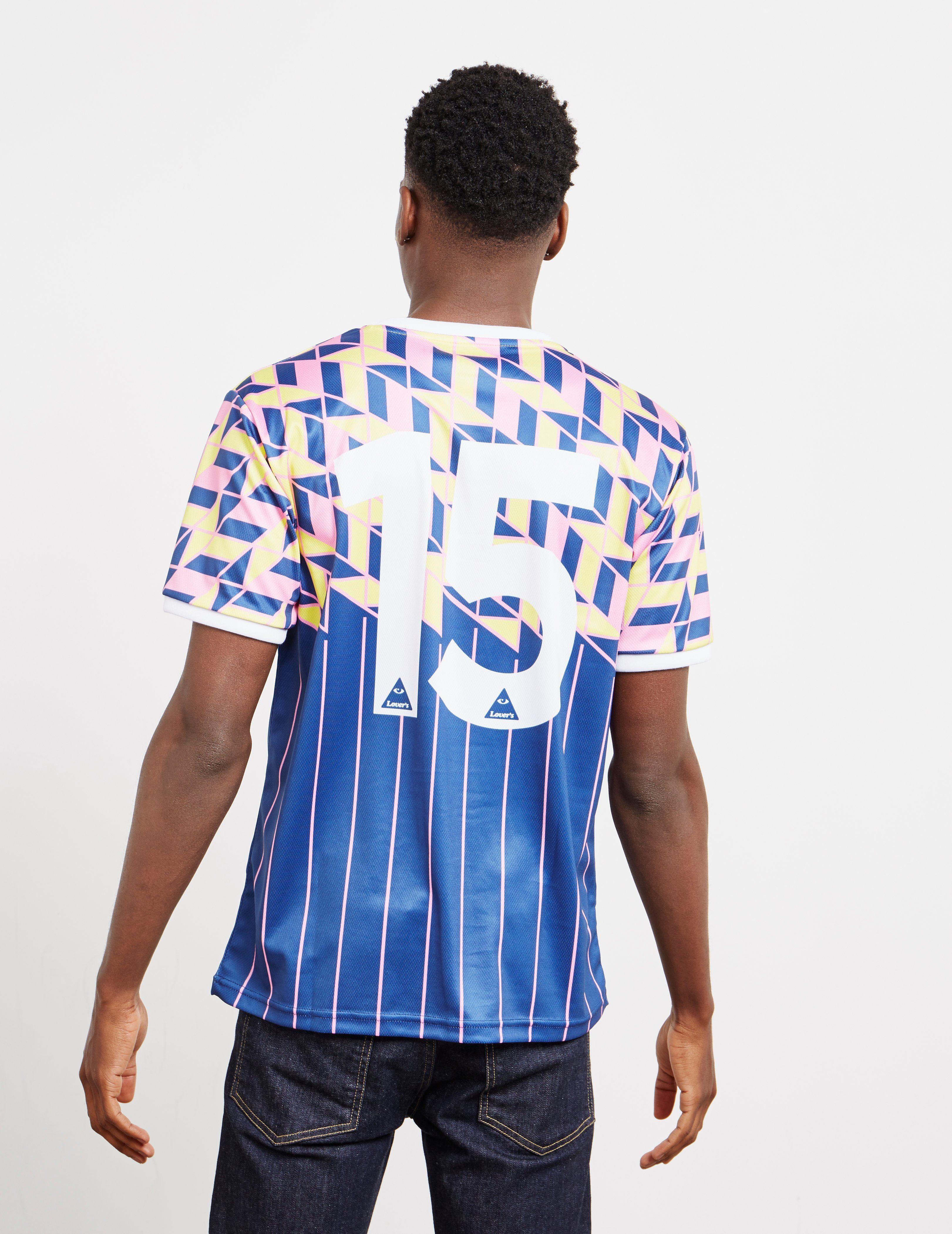 Lovers FC x Tessuti Glasgow Football T-Shirt