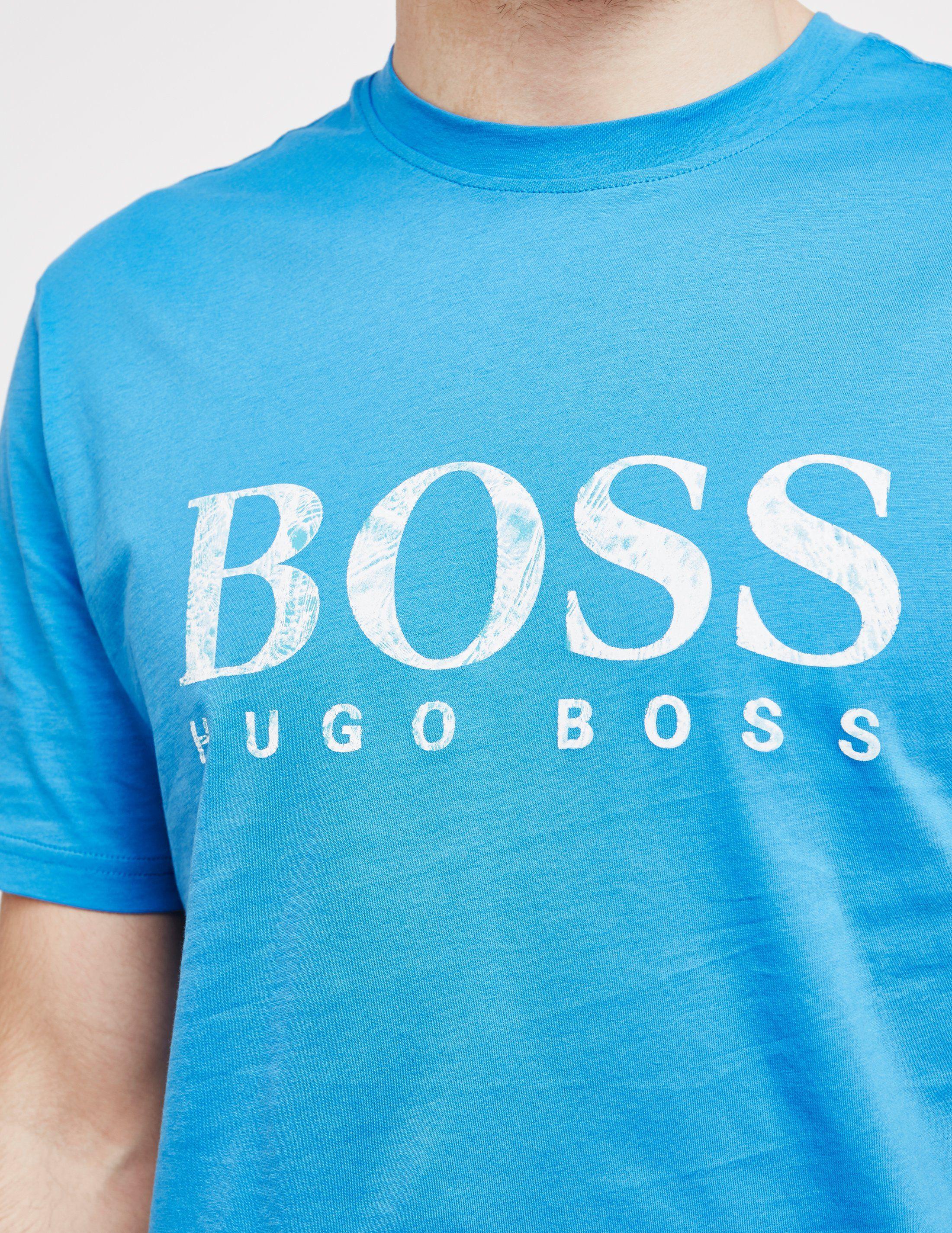 BOSS Teecher Logo Short Sleeve T-Shirt