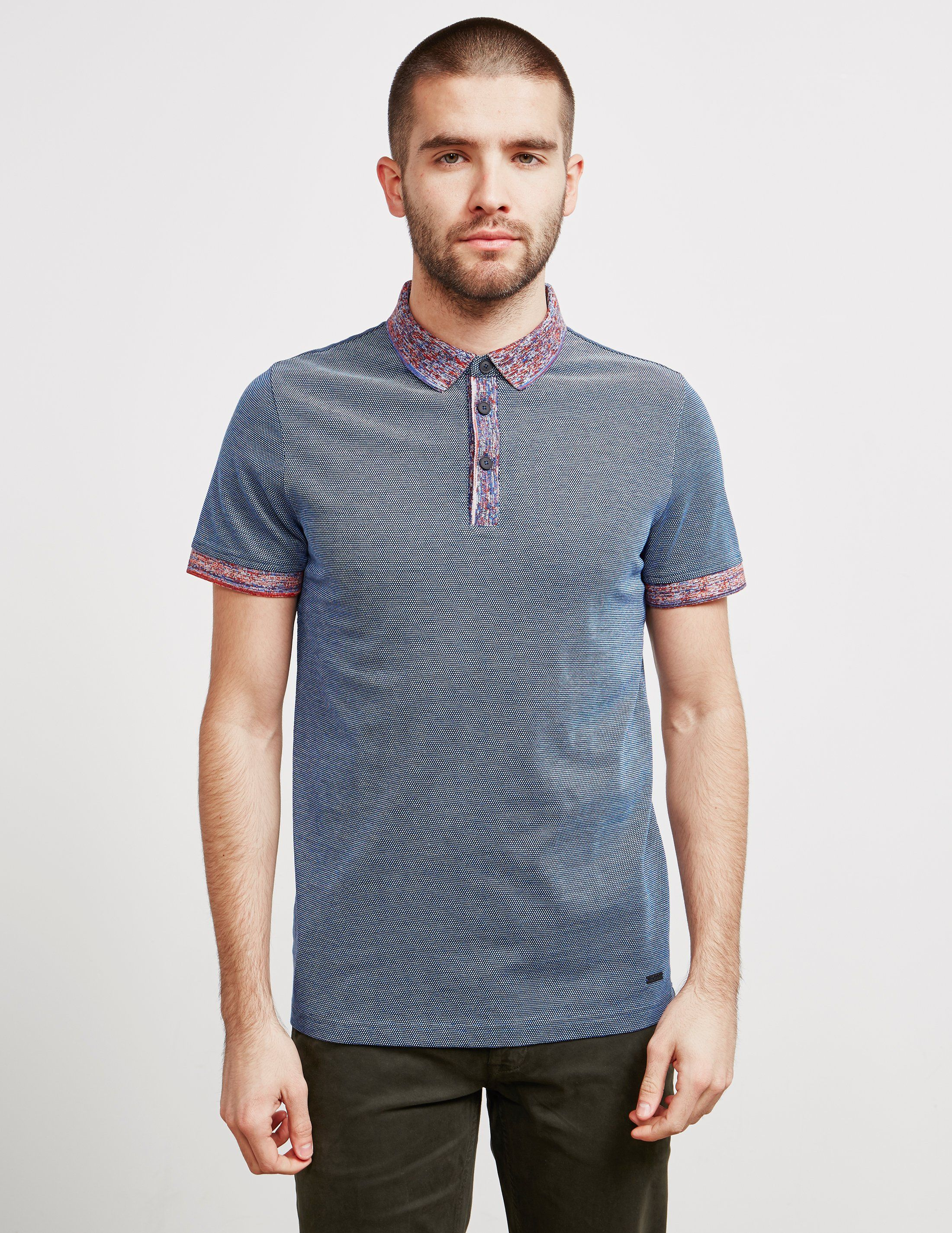 BOSS Punch Space Short Sleeve Polo Shirt