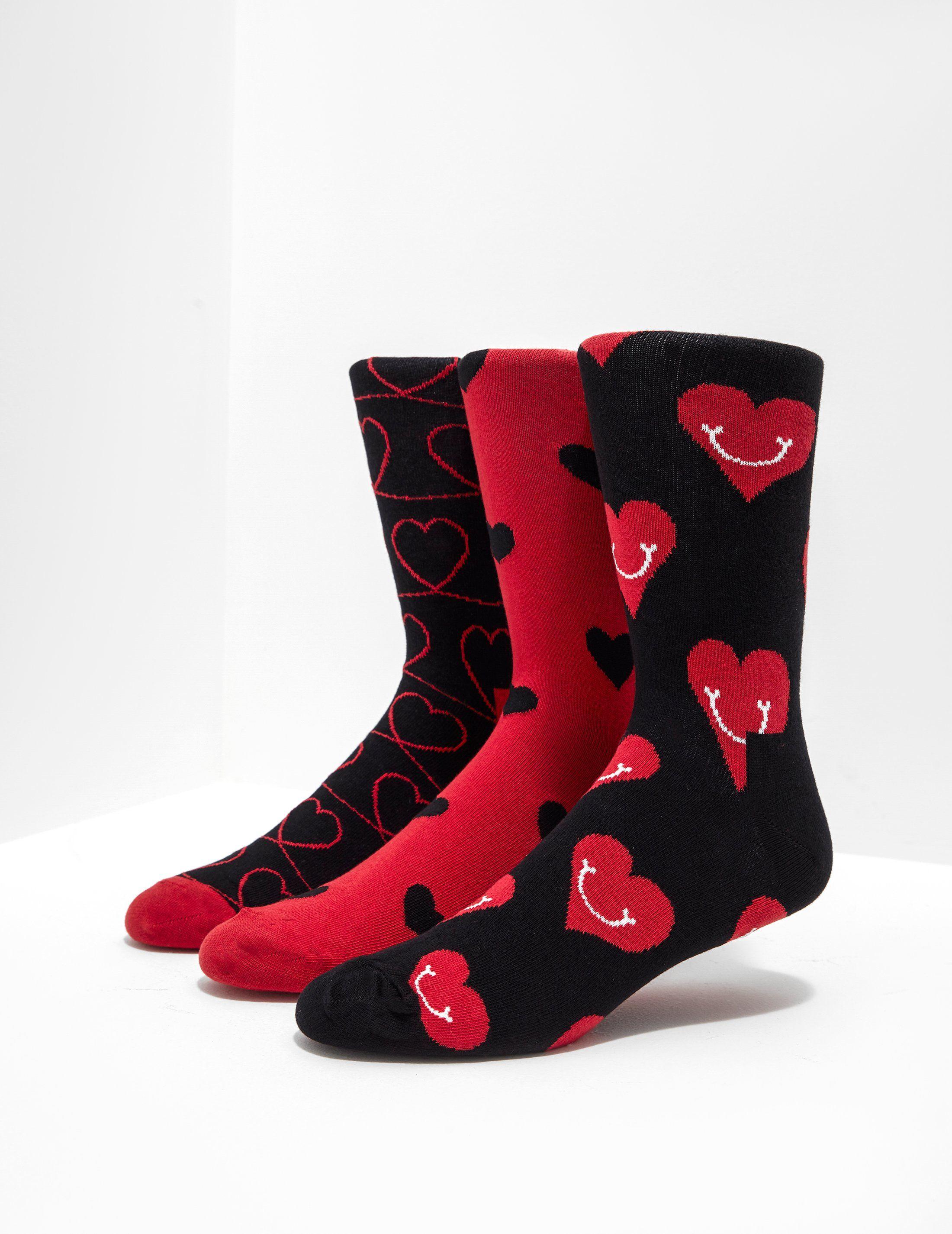 Happy Socks 3-Pack Love Socks