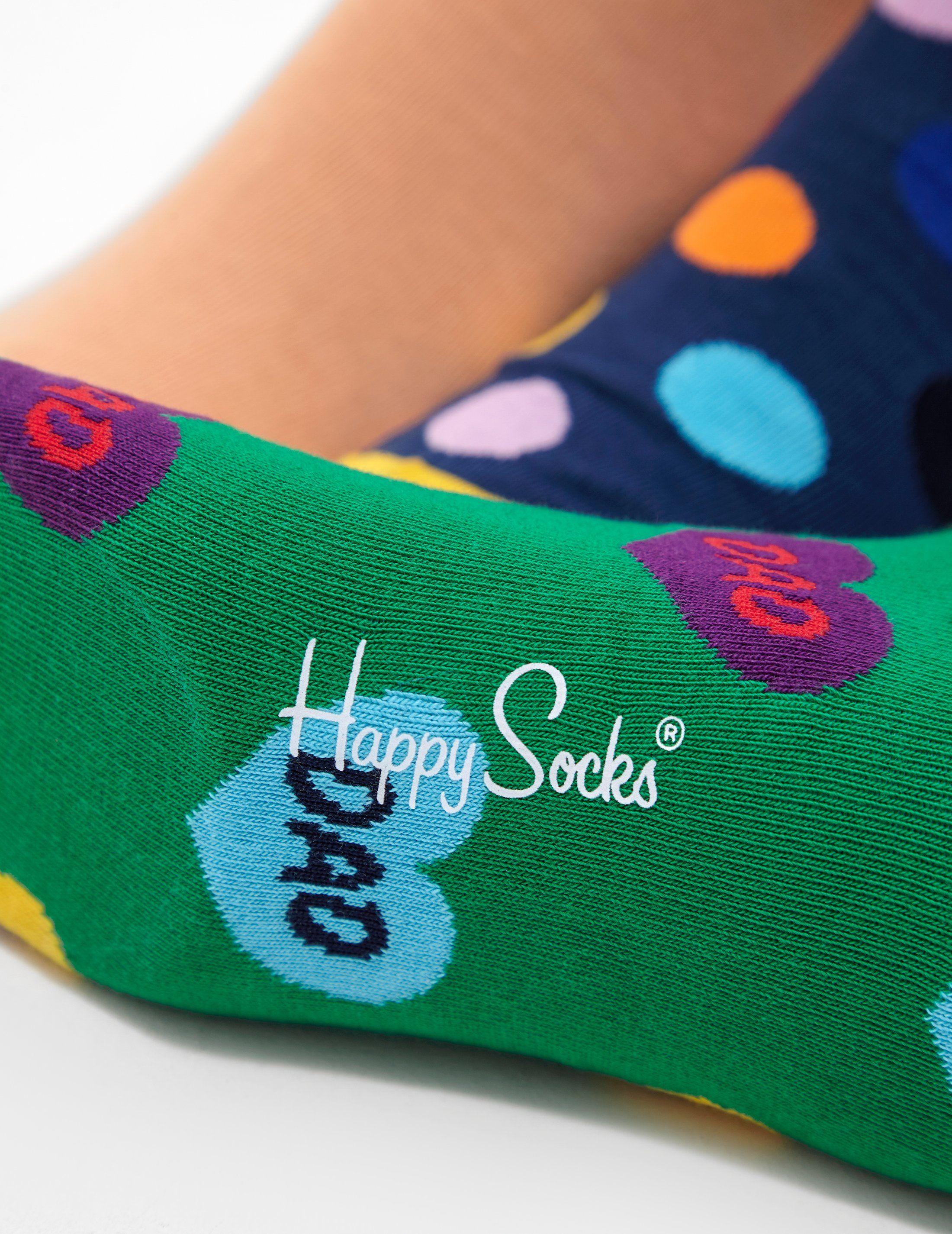 Happy Socks 3-Pack Dad Socks