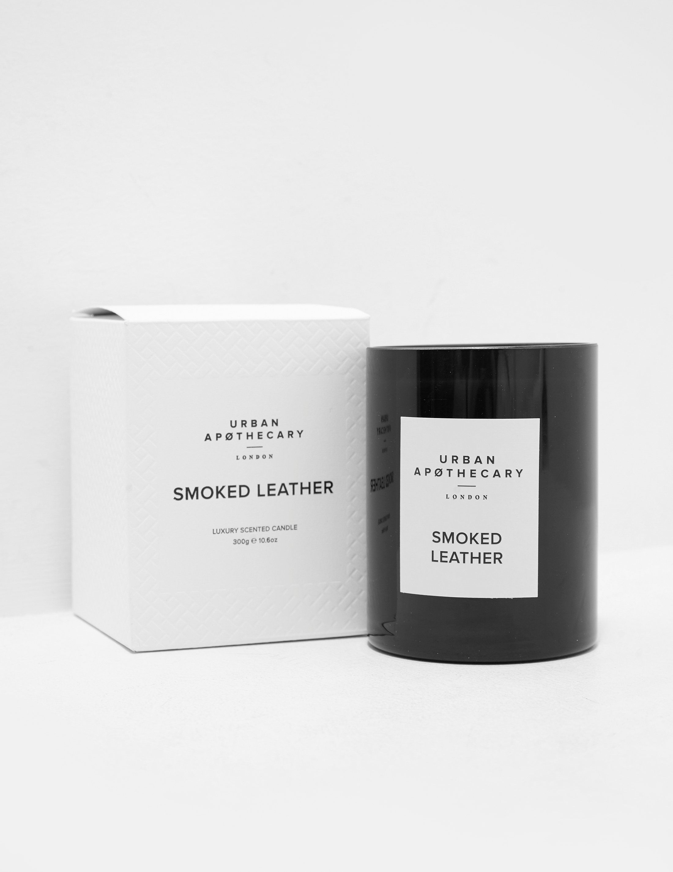 Urban Apothecary Smoked Leather Candle 300G