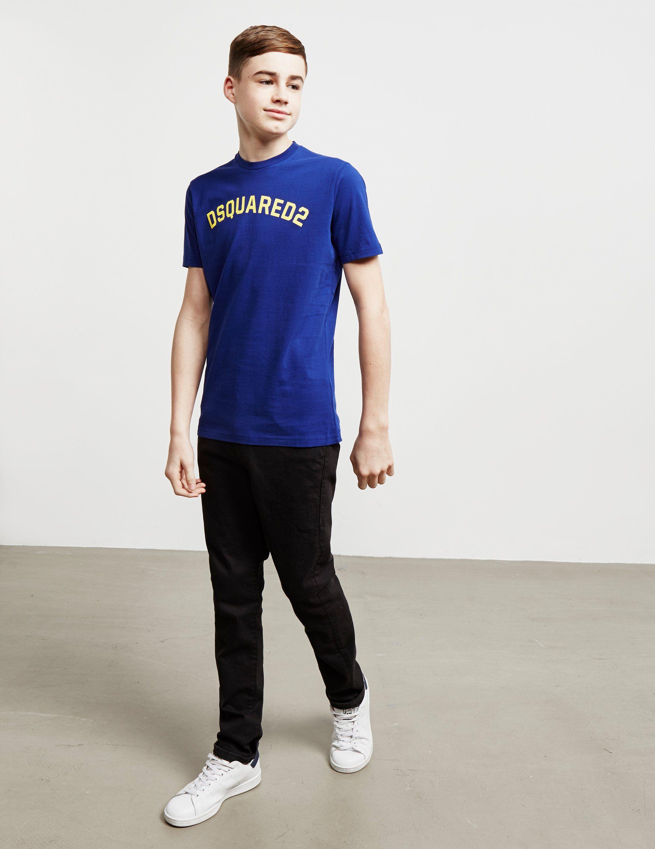 Dsquared2 Curve Logo Short Sleeve T-Shirt