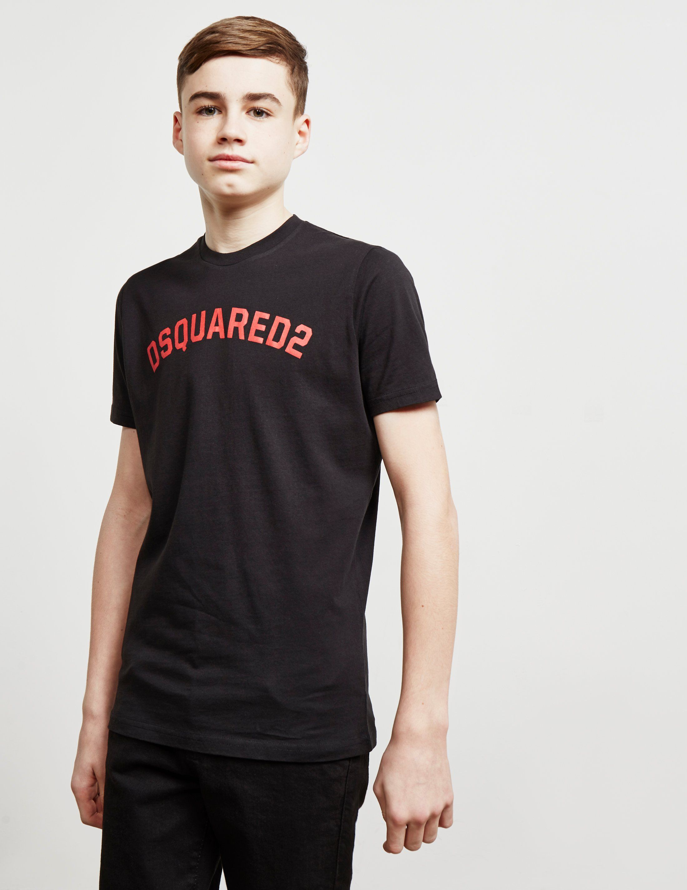 Dsquared2 Curve Logo Short Sleeve T-Shirt