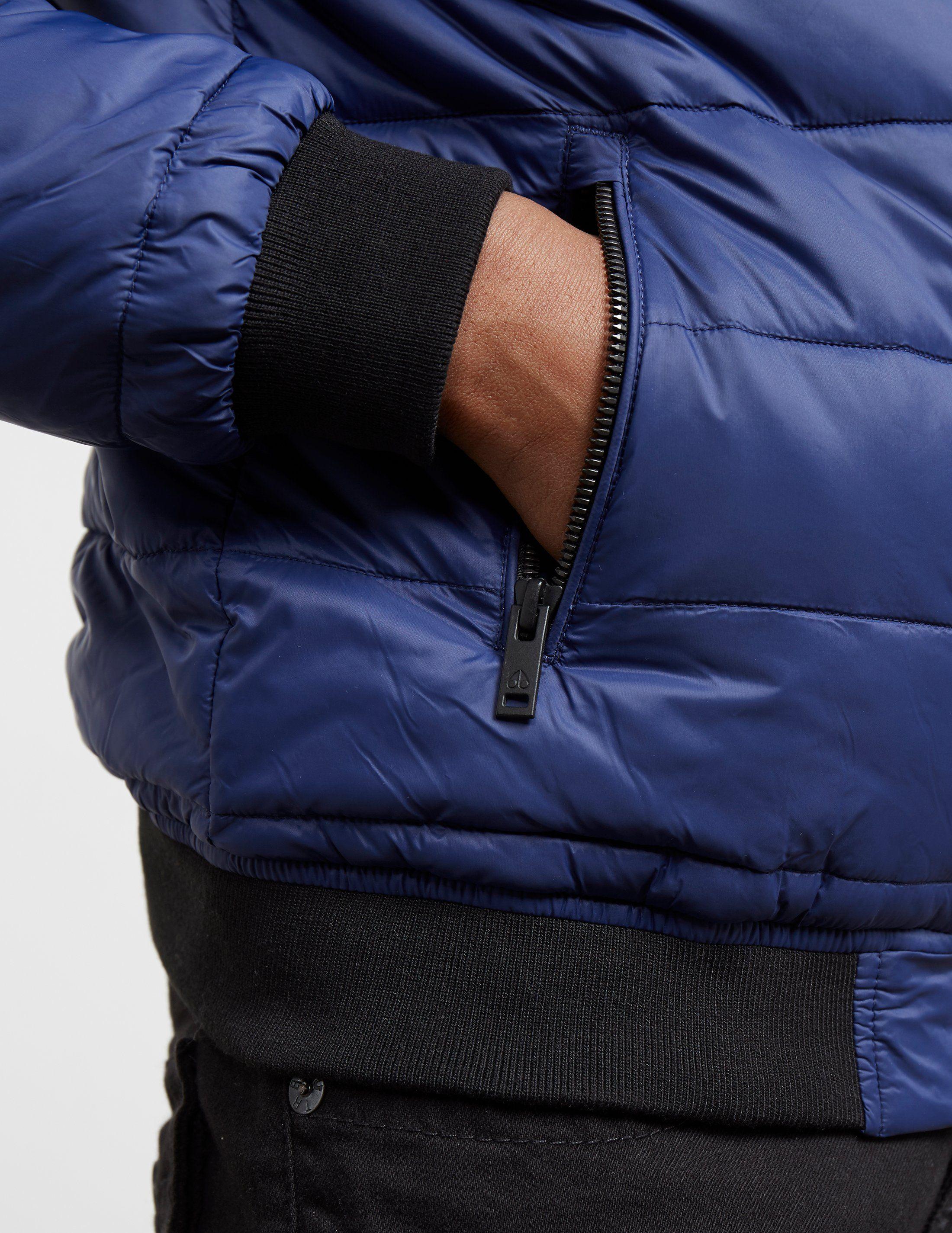 Moose Knuckles Peel Bomber Jacket
