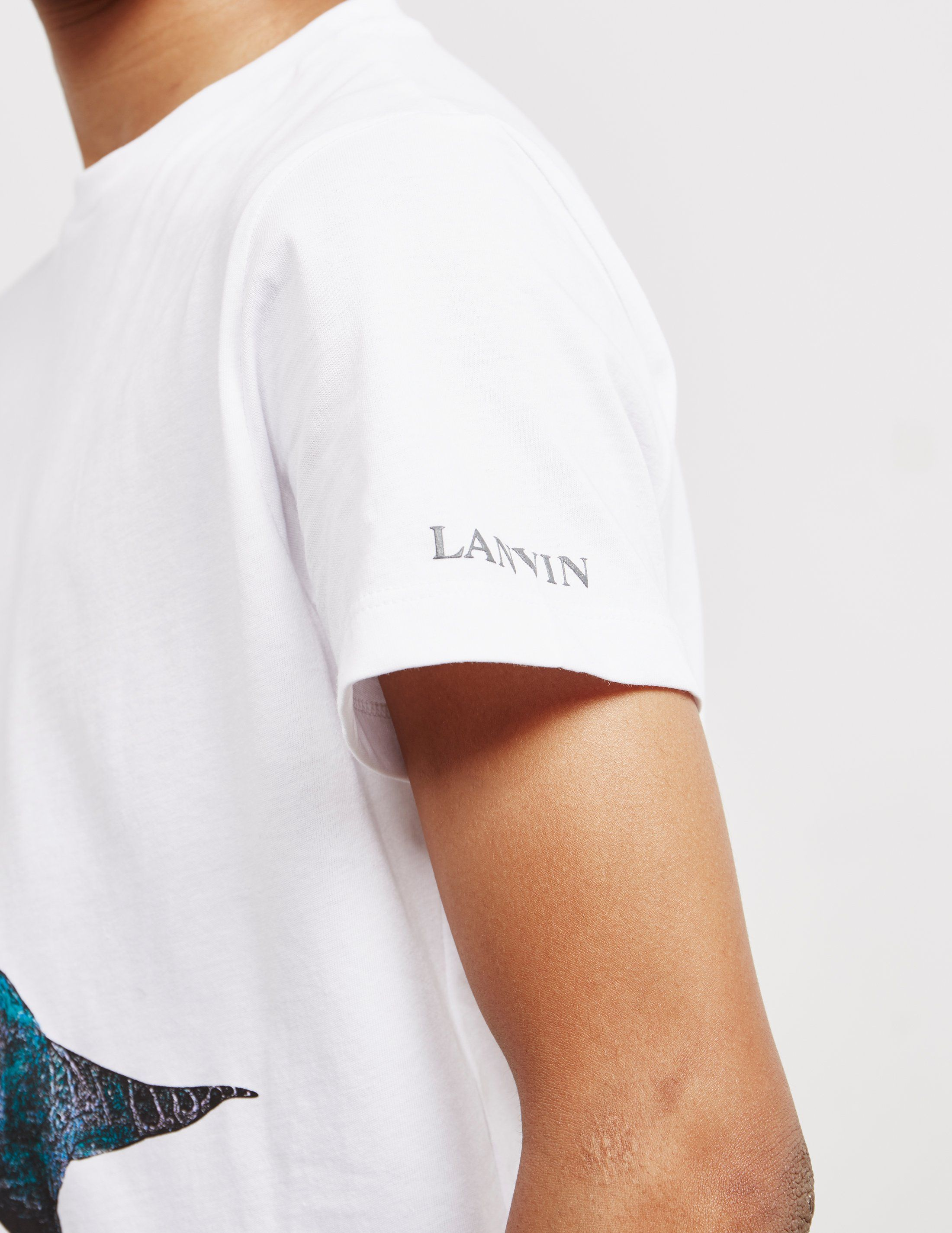 Lanvin Dinosaur Short Sleeve T-Shirt