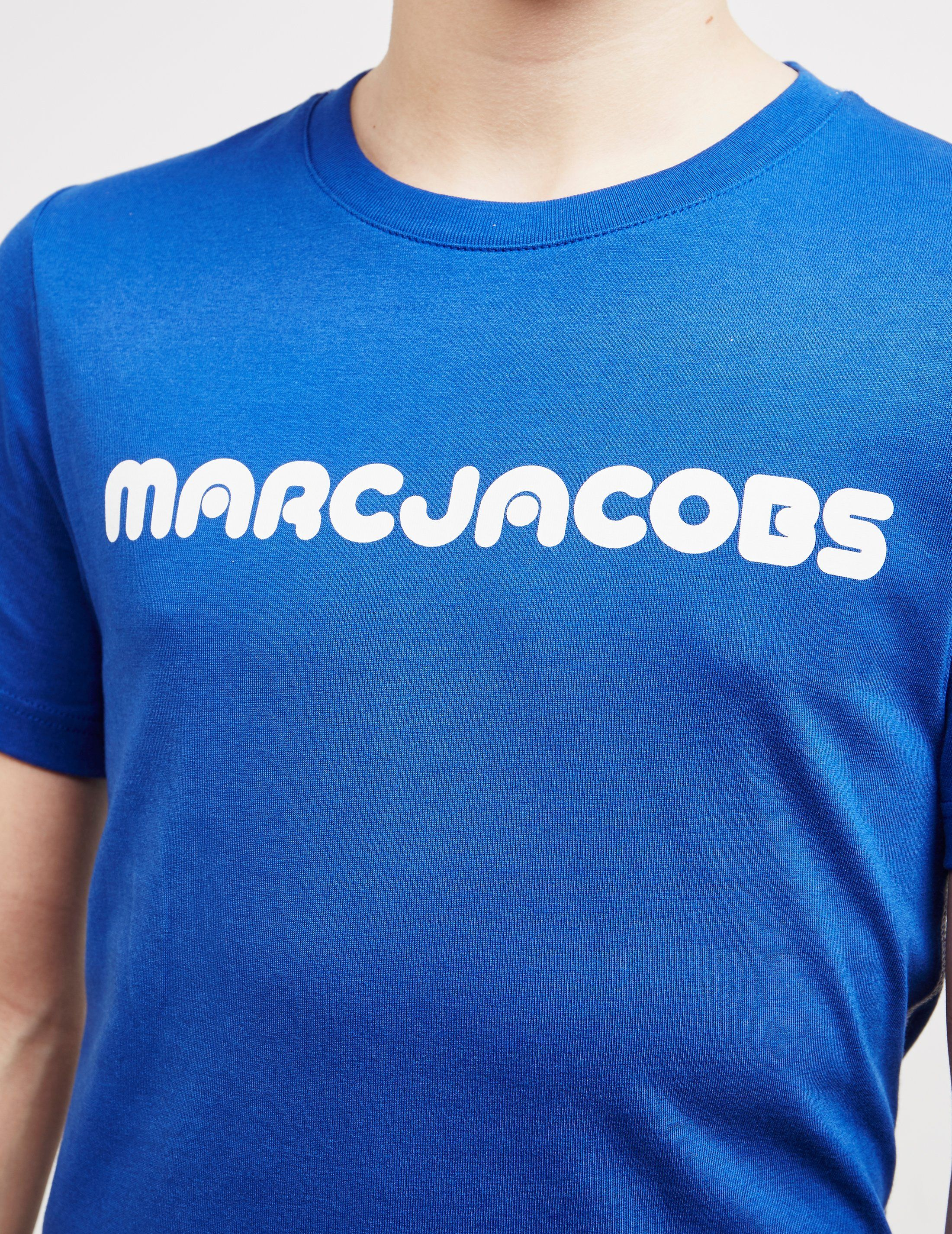 Little Marc Jacobs Retro Logo Short Sleeve T-Shirt