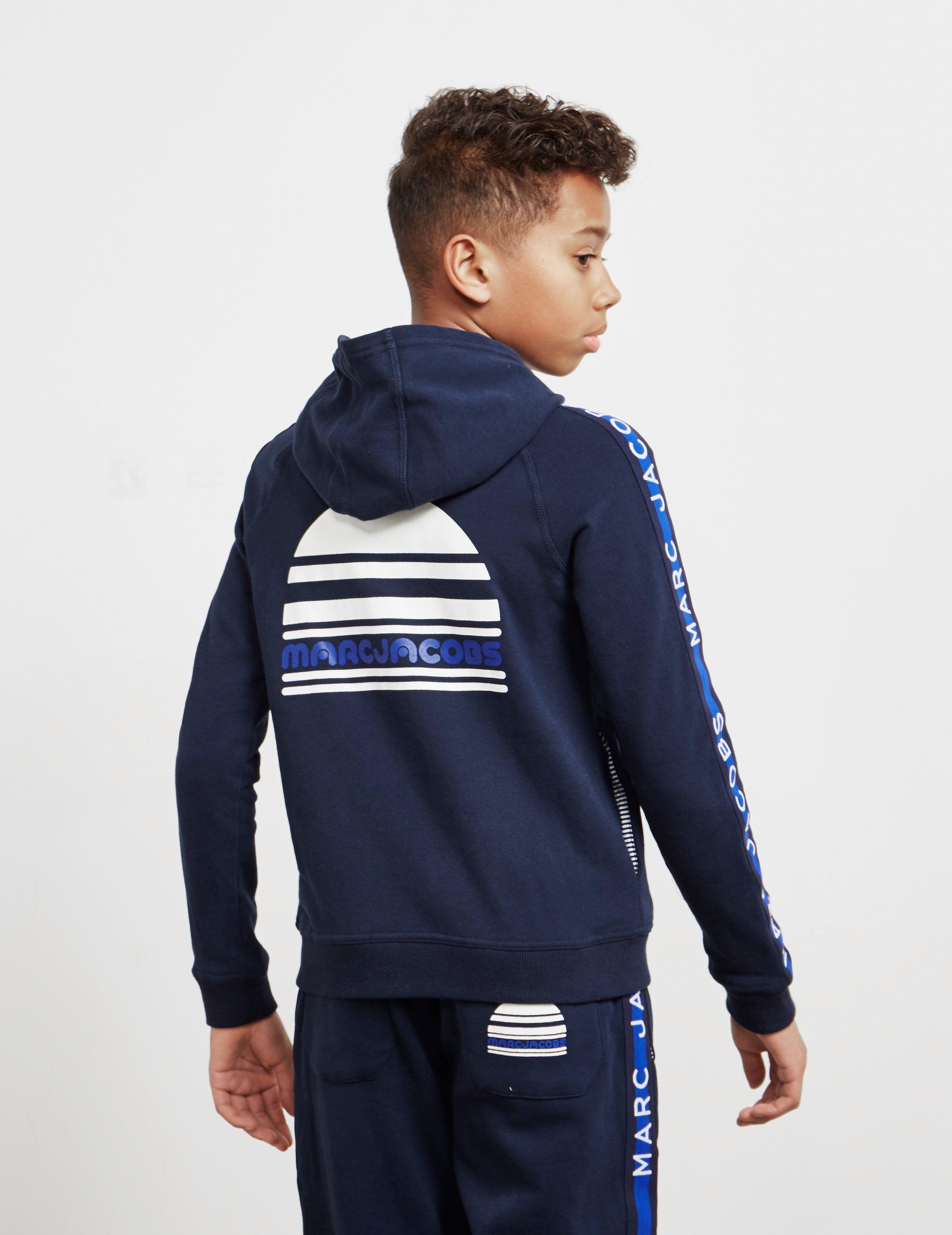 Little Marc Jacobs Logo Full Zip Hoodie