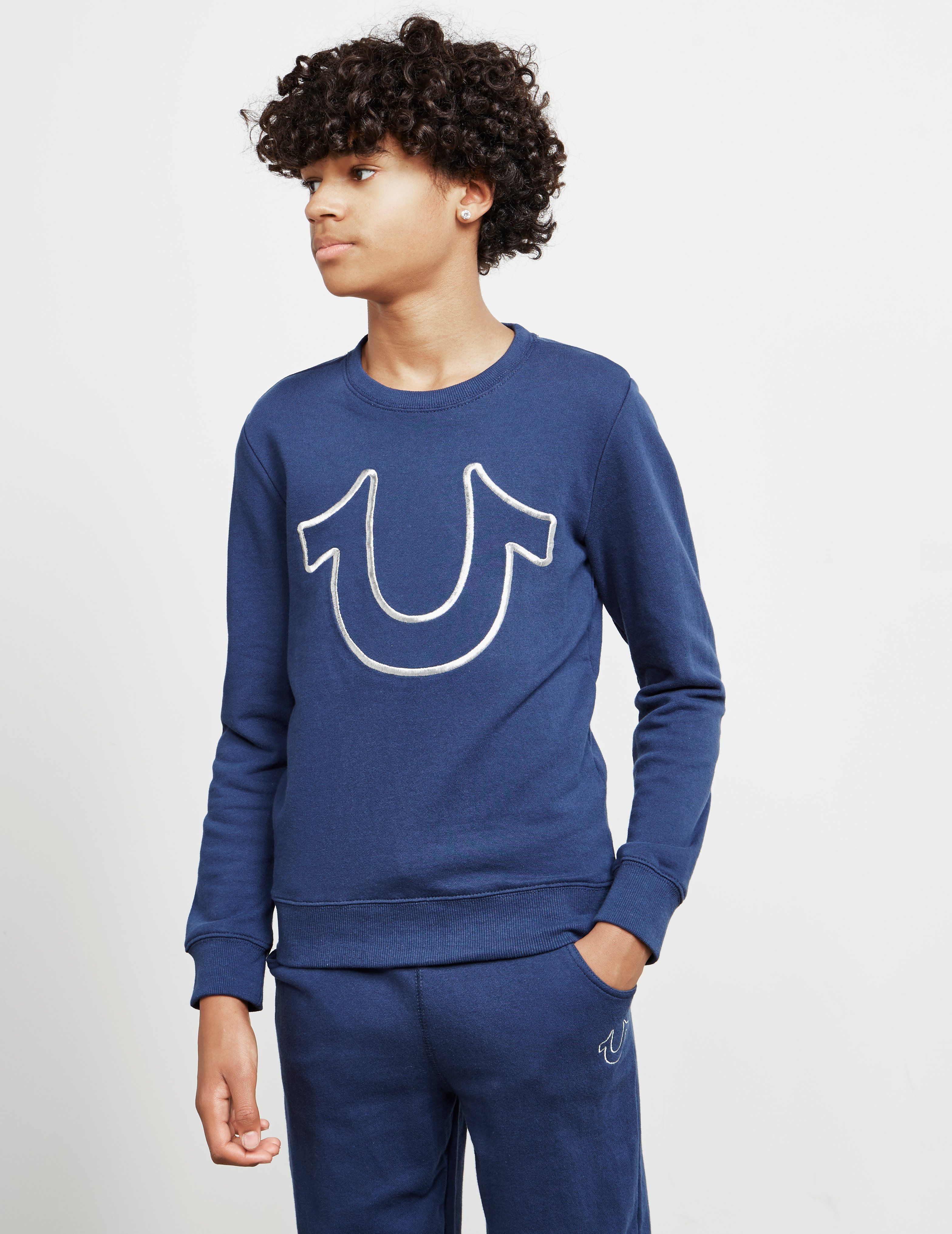 True Religion Outline Logo Sweatshirt