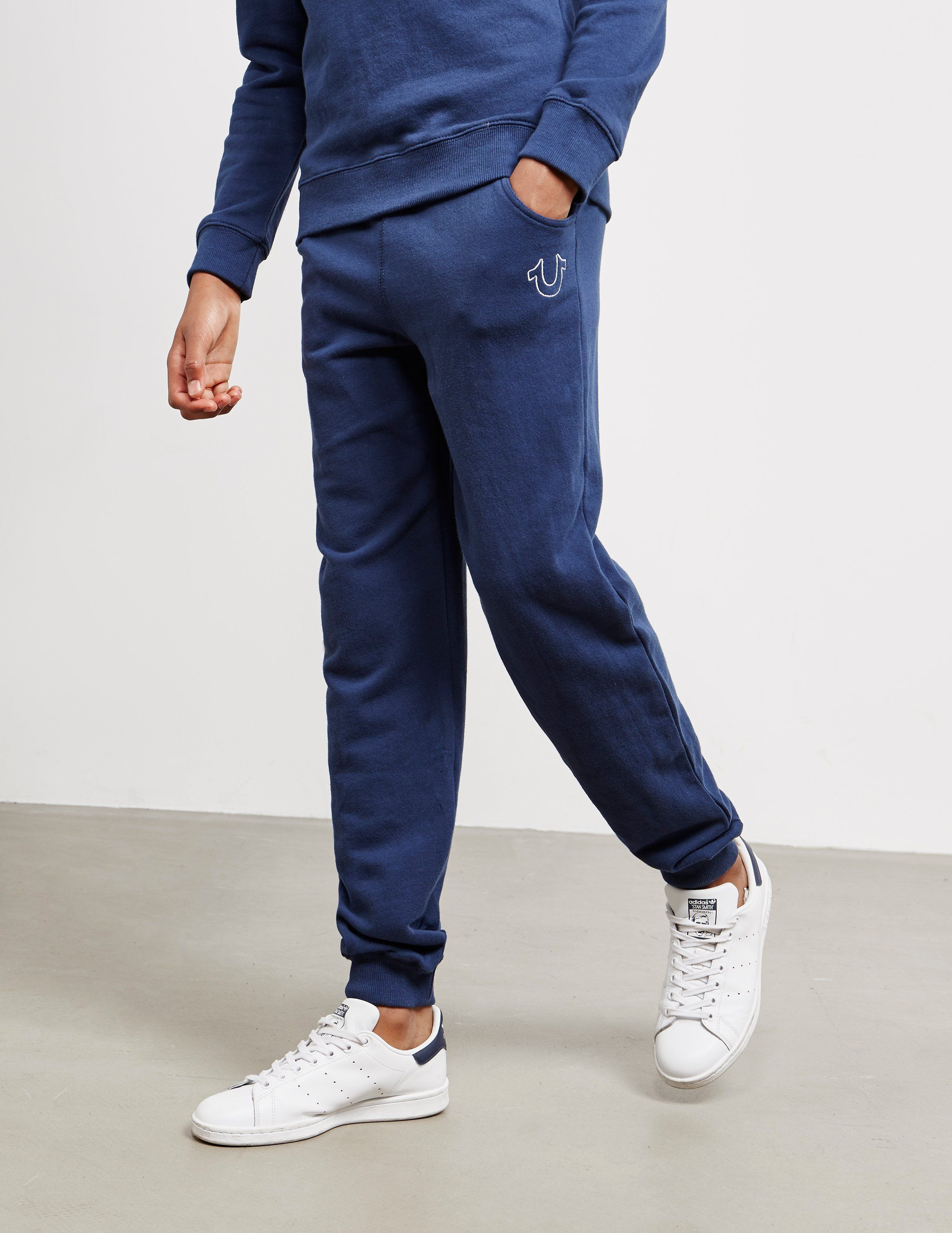 True Religion Outline Logo Fleece Pants