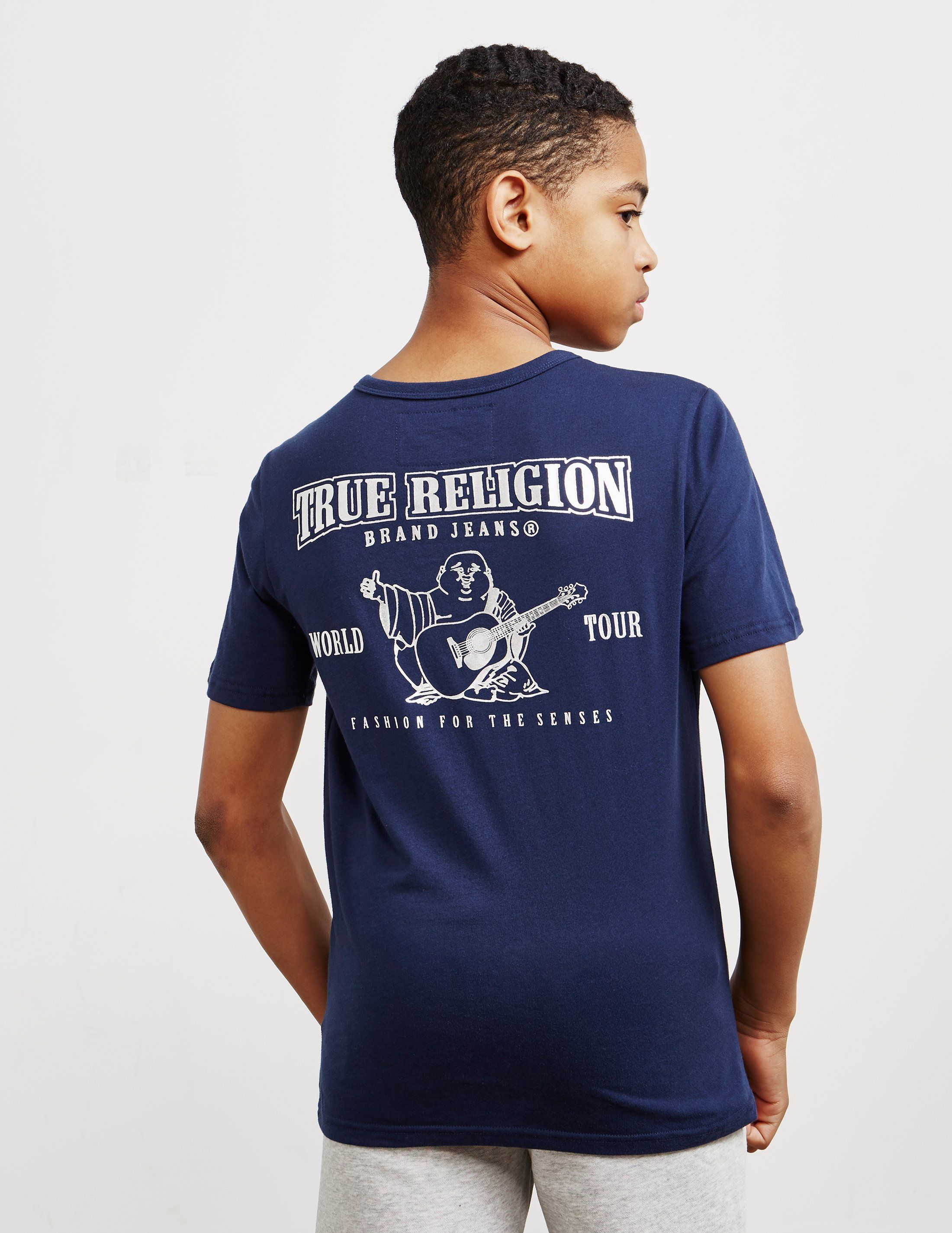 True Religion Horseshoe Logo Short Sleeve T-Shirt