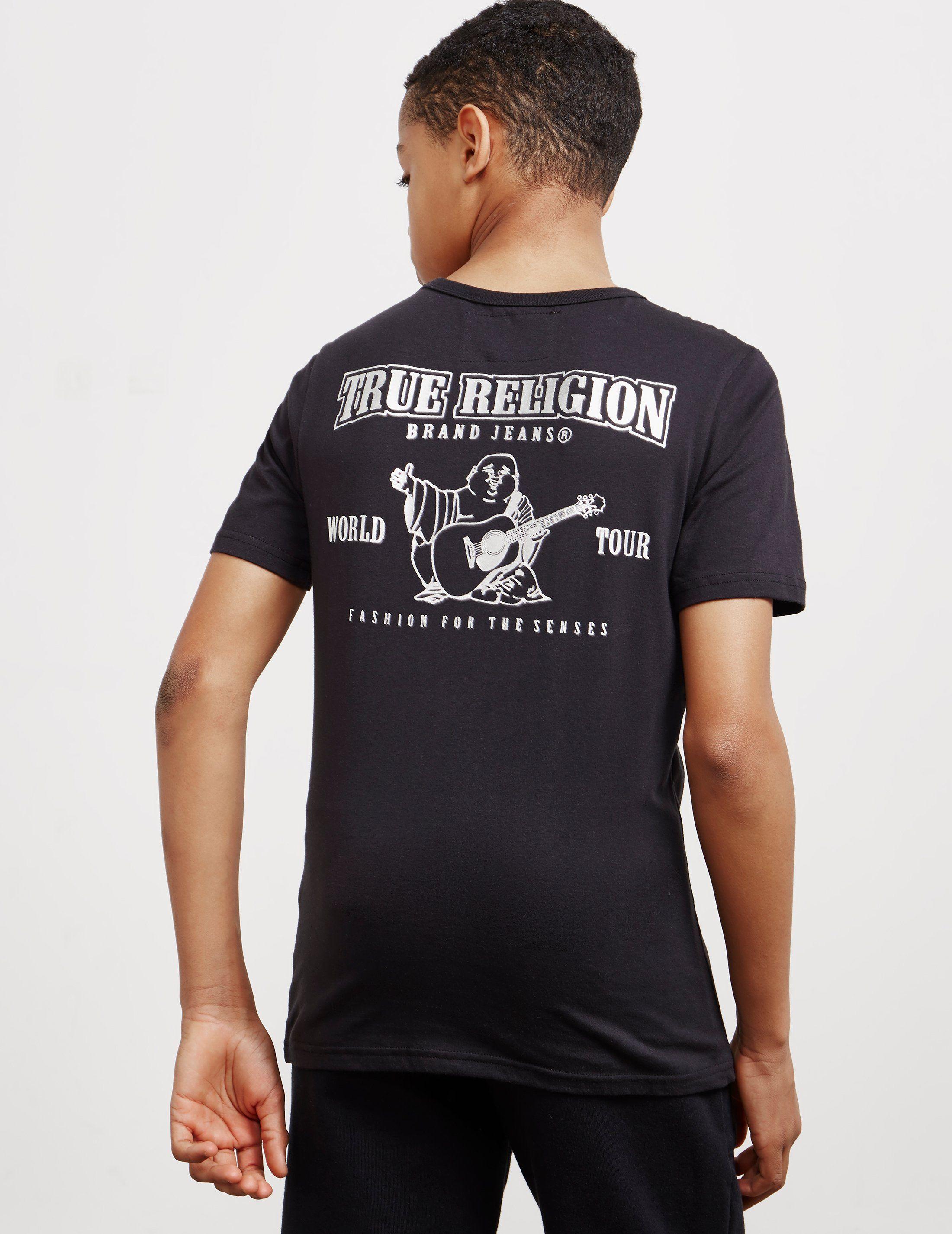 True Religion Horseshoe Logo Short Sleeve T-Shirt