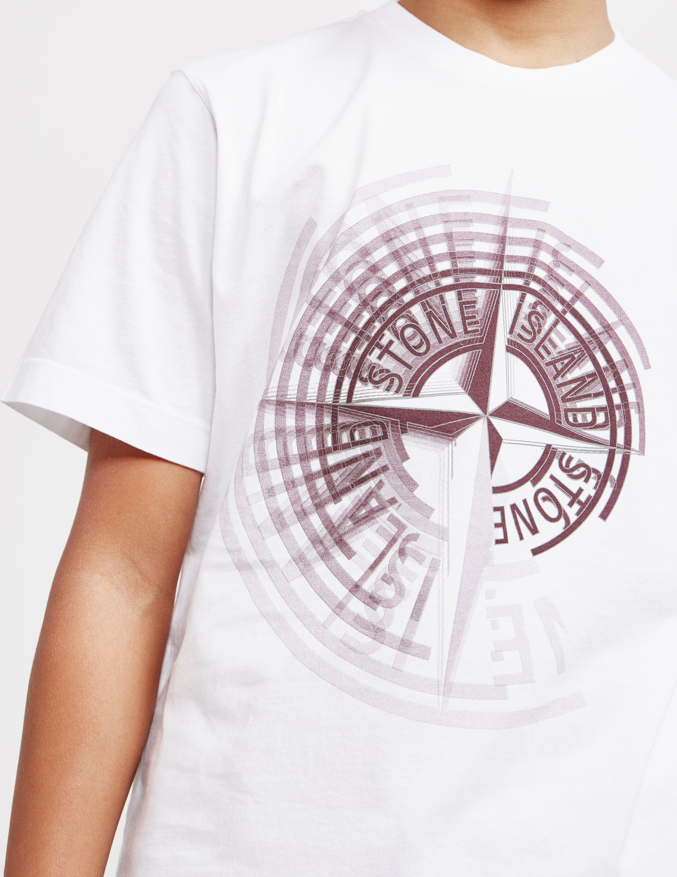 Stone Island Large Pin Short Sleeve T-Shirt