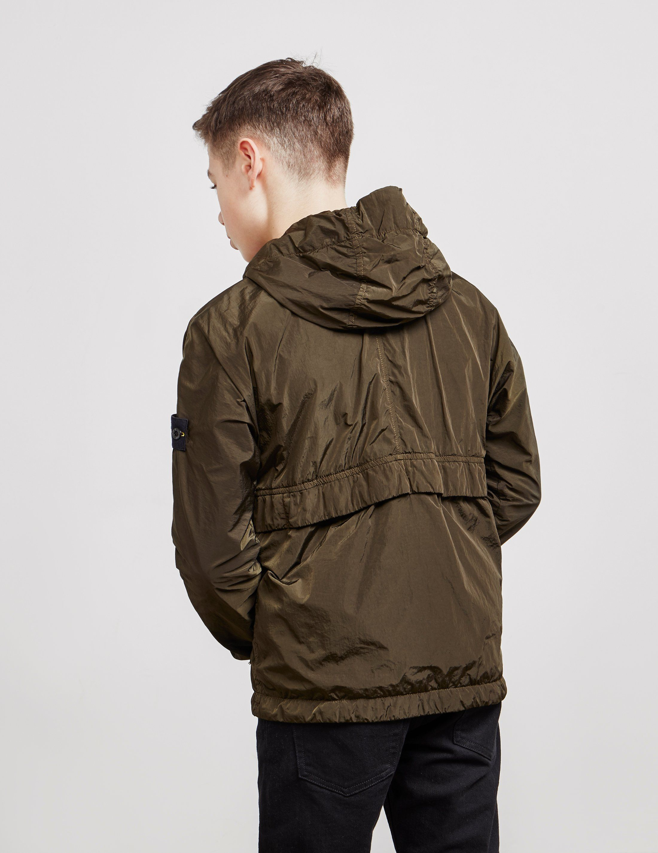 Stone Island Crinkle Hooded Jacket