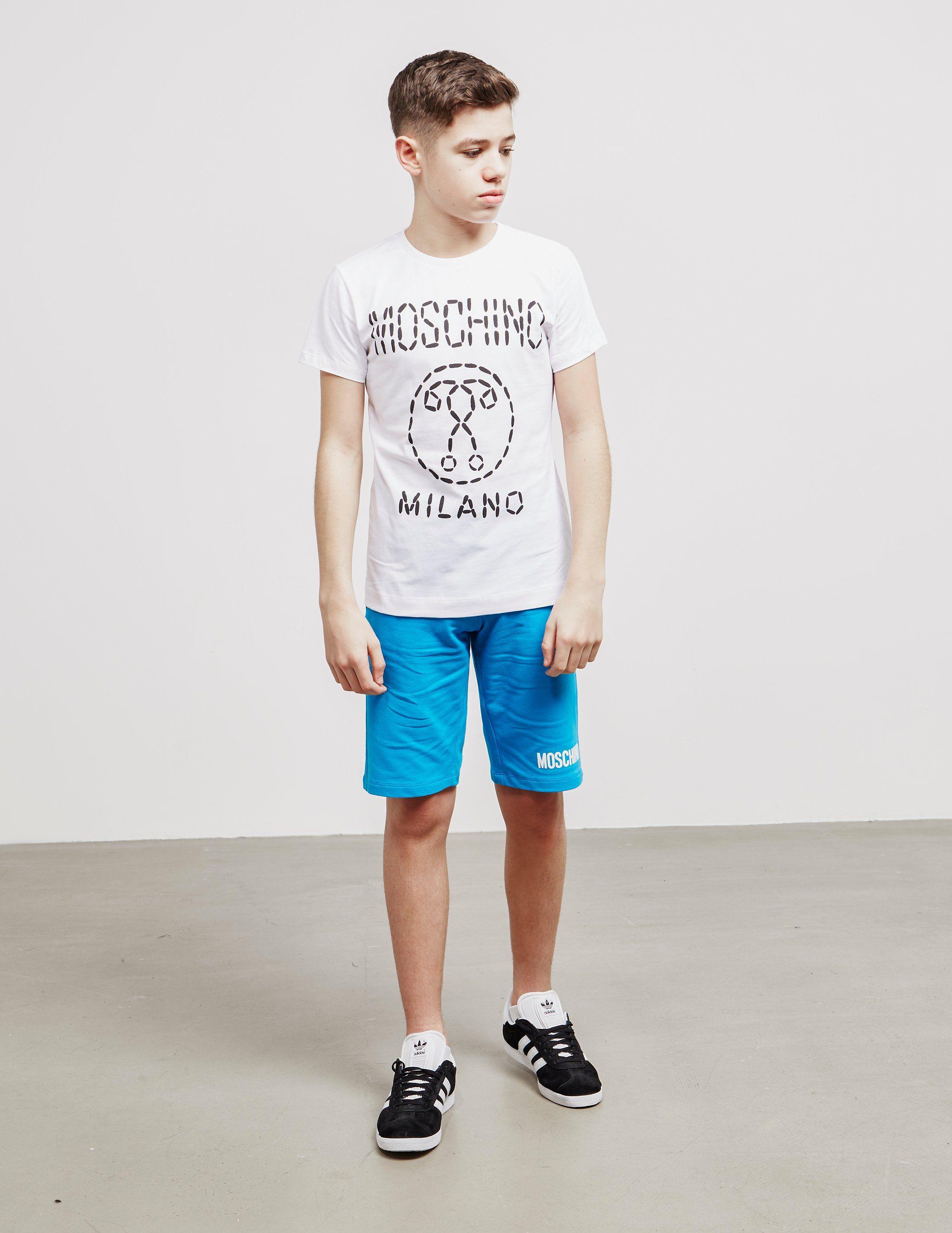 Moschino Digi Logo Short Sleeve T-Shirt