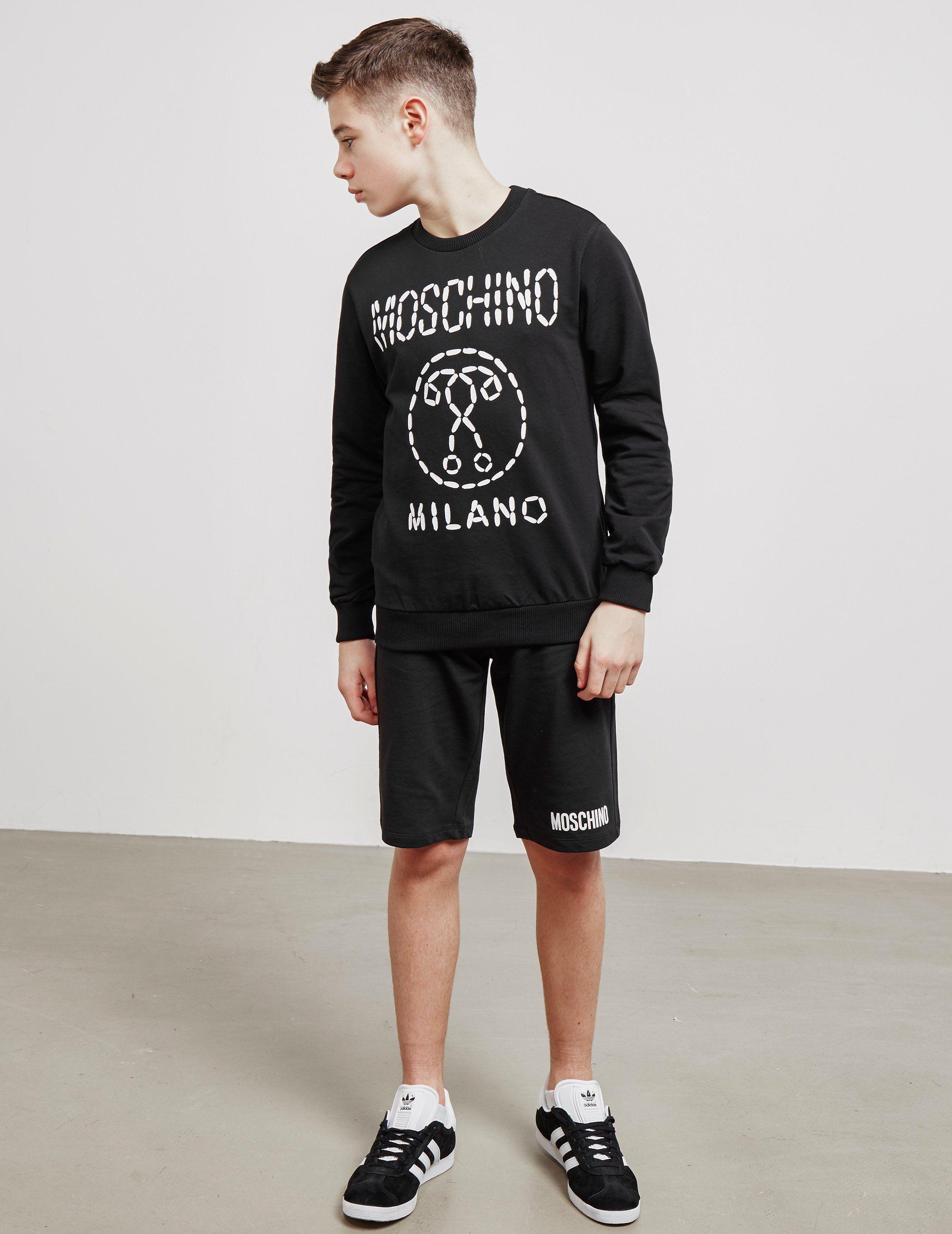 Moschino Logo Shorts
