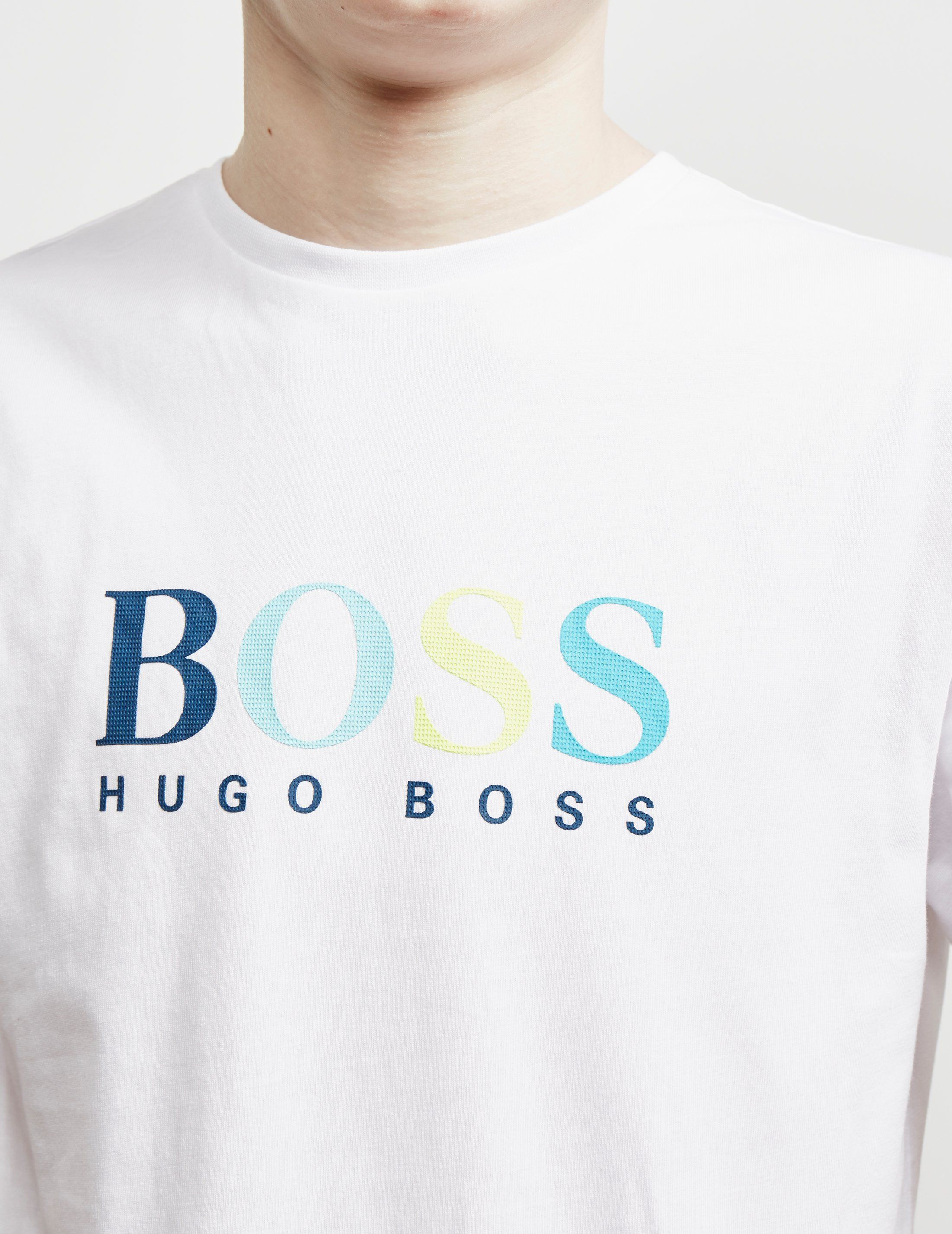 BOSS Multi Logo Short Sleeve T-Shirt