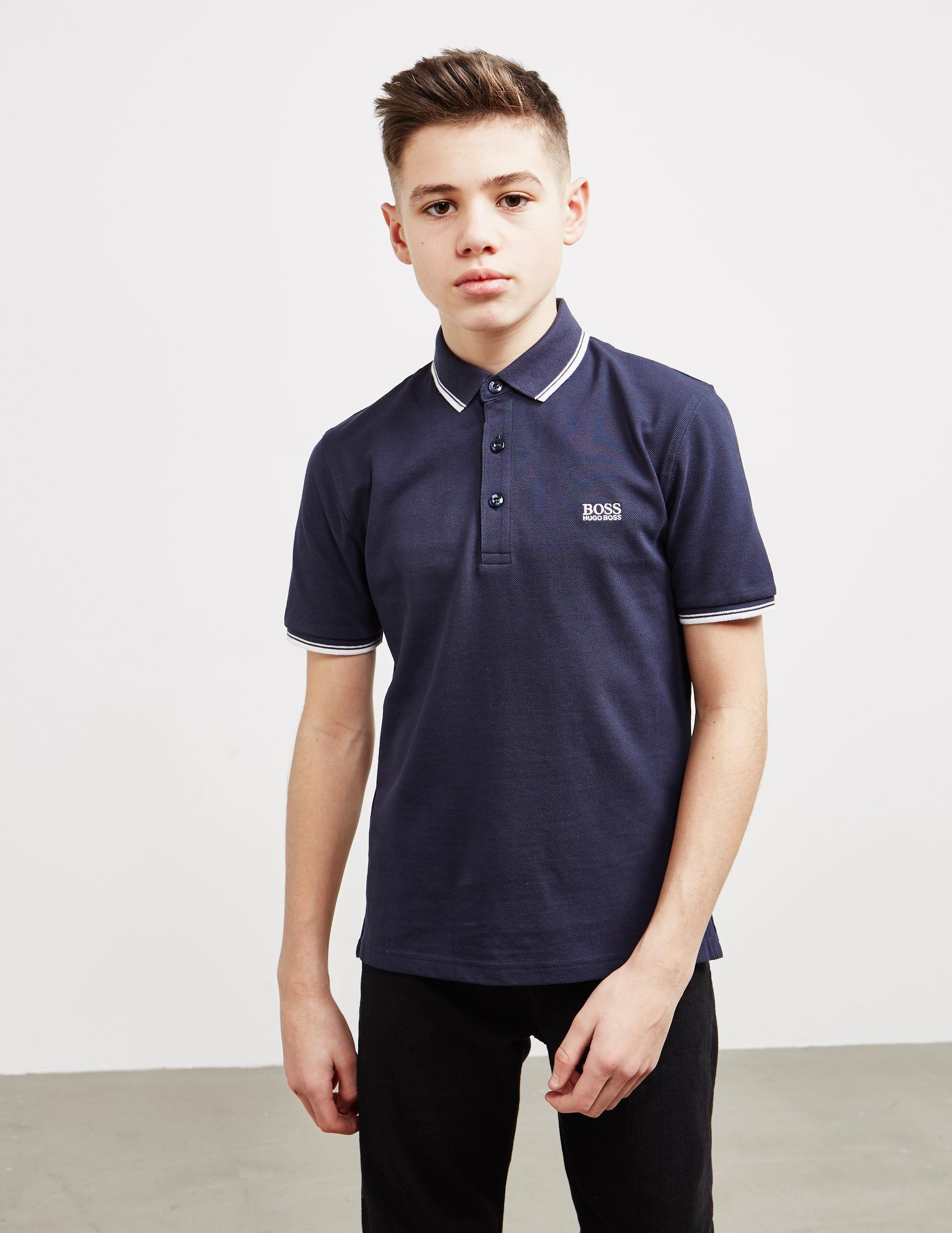 BOSS Small Logo Short Sleeve Polo Shirt