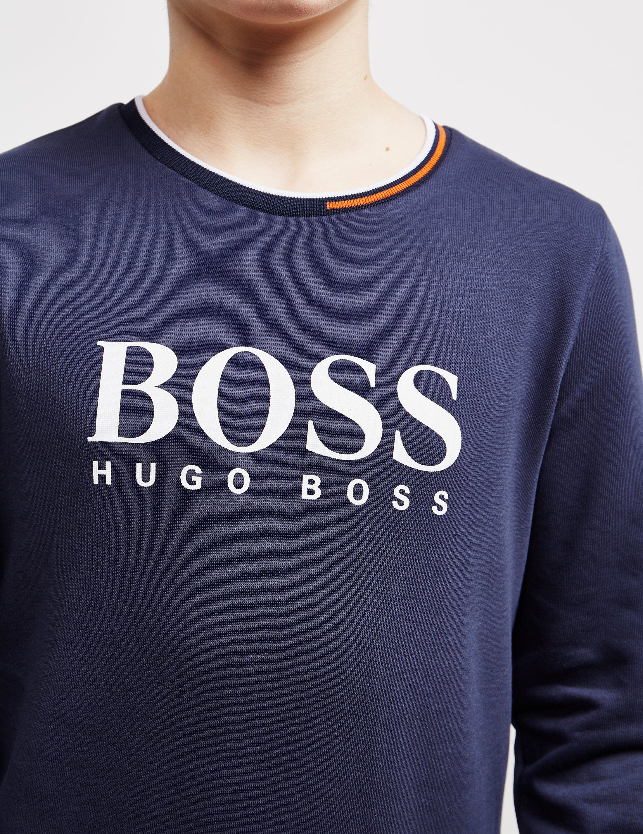 BOSS Large Logo Sweatshirt