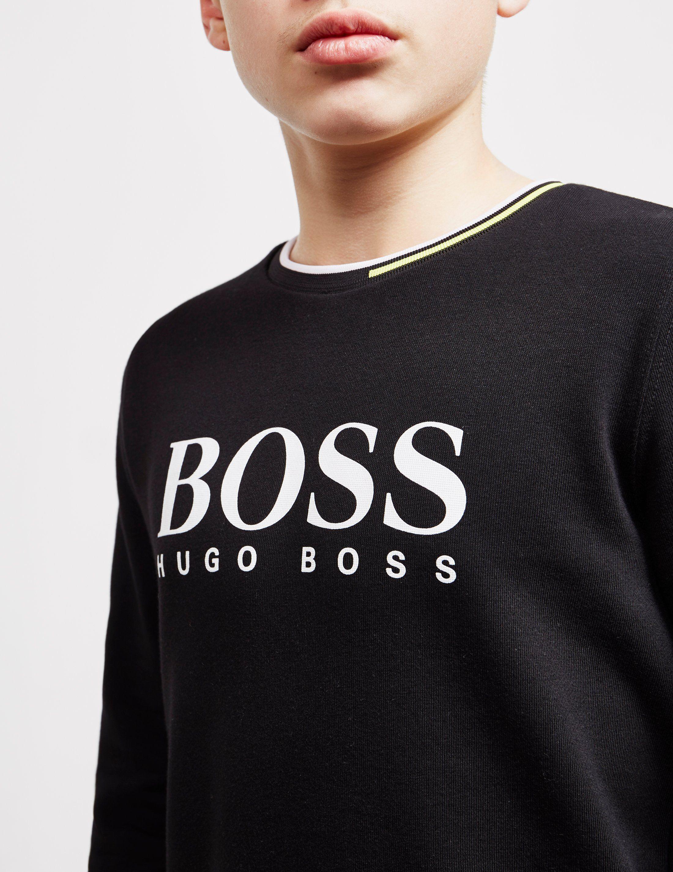 BOSS Large Logo Sweatshirt