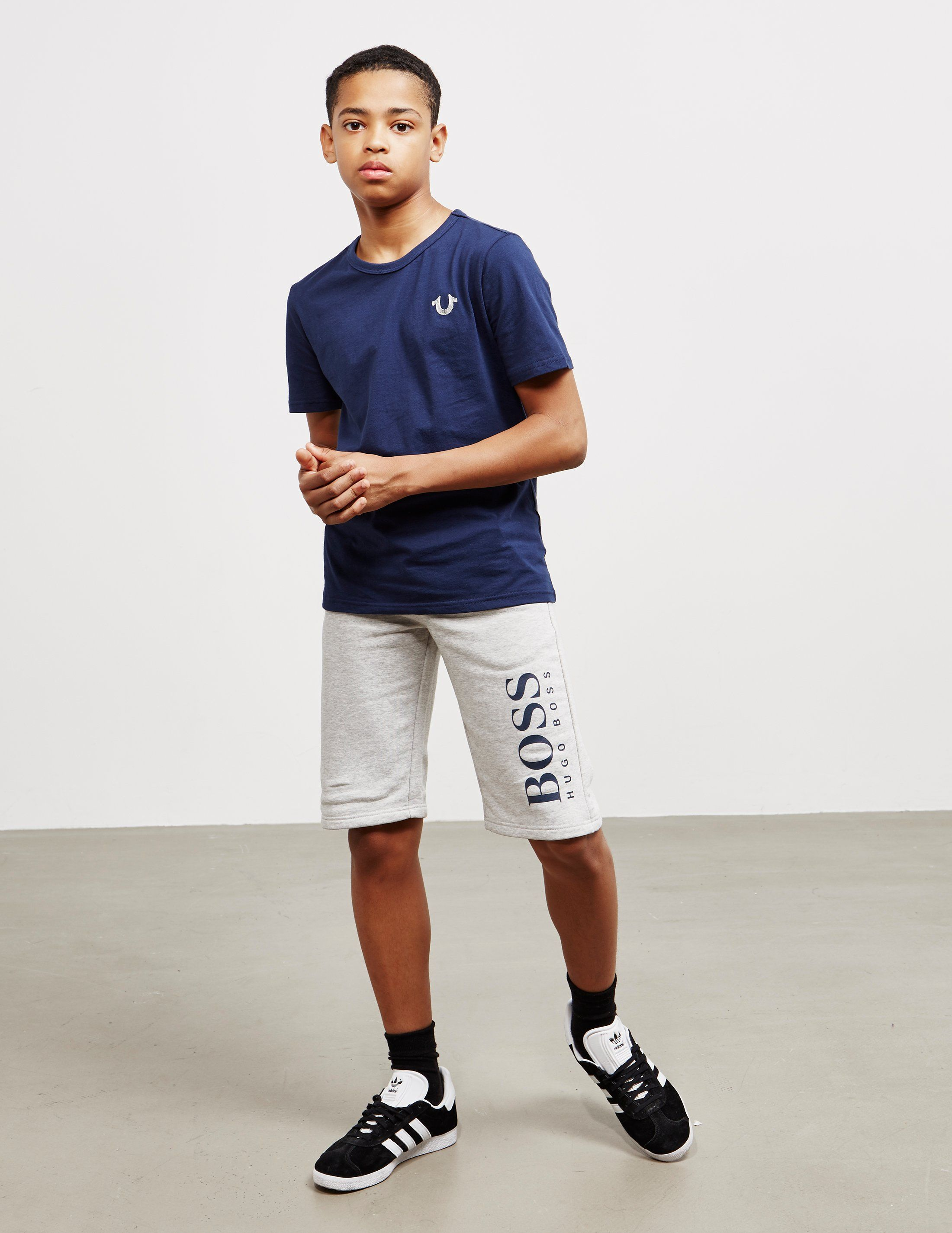 BOSS Leg Logo Shorts