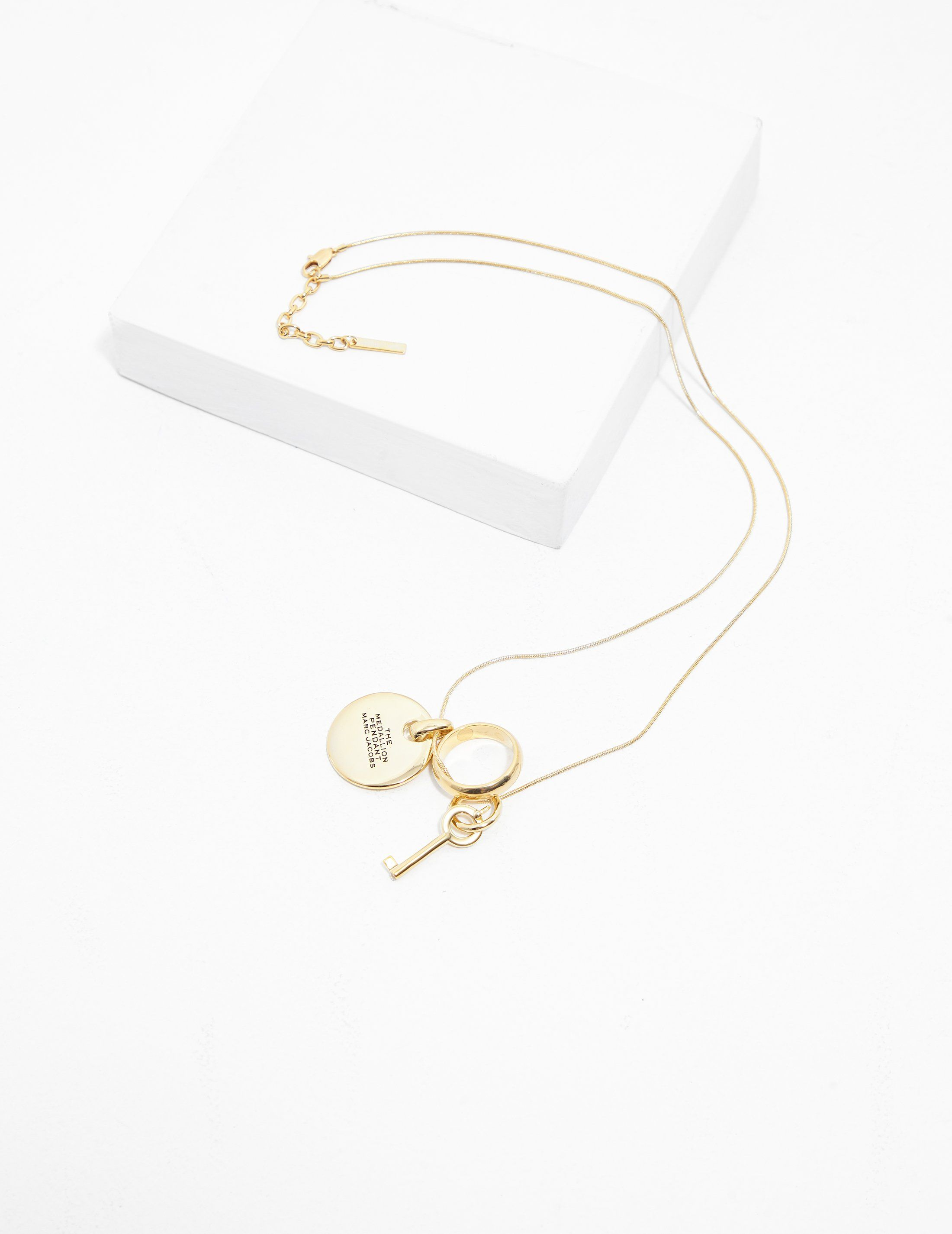 Marc Jacobs Medallion Necklace