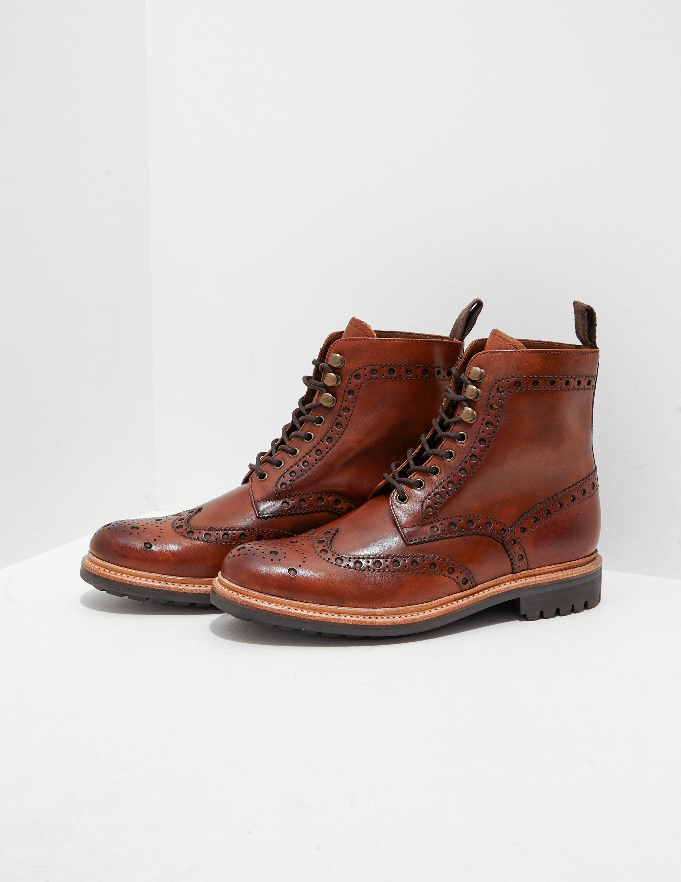 Grenson Fred Brogue Boots - Online Exclusive