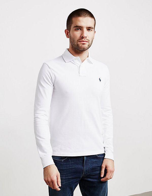 73fefea997db Polo Ralph Lauren Slim Fit Long Sleeve Polo Shirt - Online Exclusive ...
