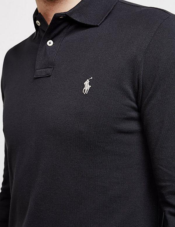 73fefea997db Polo Ralph Lauren Slim Fit Long Sleeve Polo Shirt - Online Exclusive ...