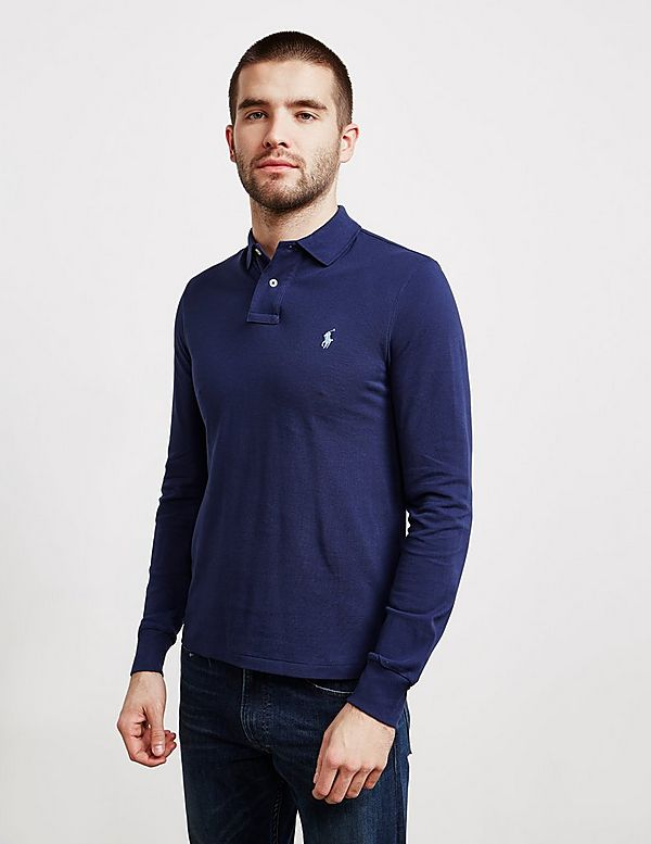 62e3dcb9781f9 Polo Ralph Lauren Slim Fit Long Sleeve Polo Shirt - Online Exclusive ...