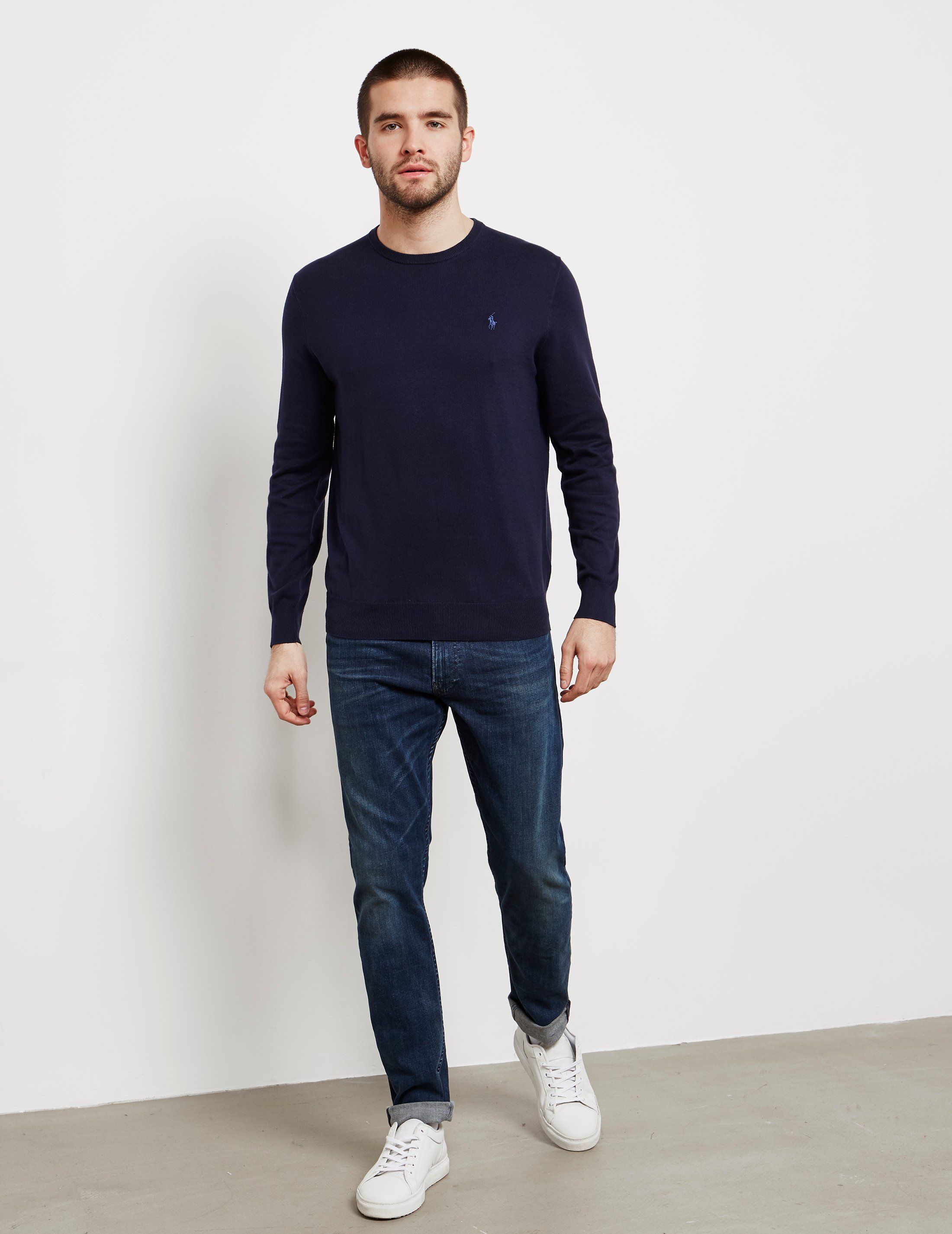 Polo Ralph Lauren Pima Crew Knit Jumper - Online Exclusive