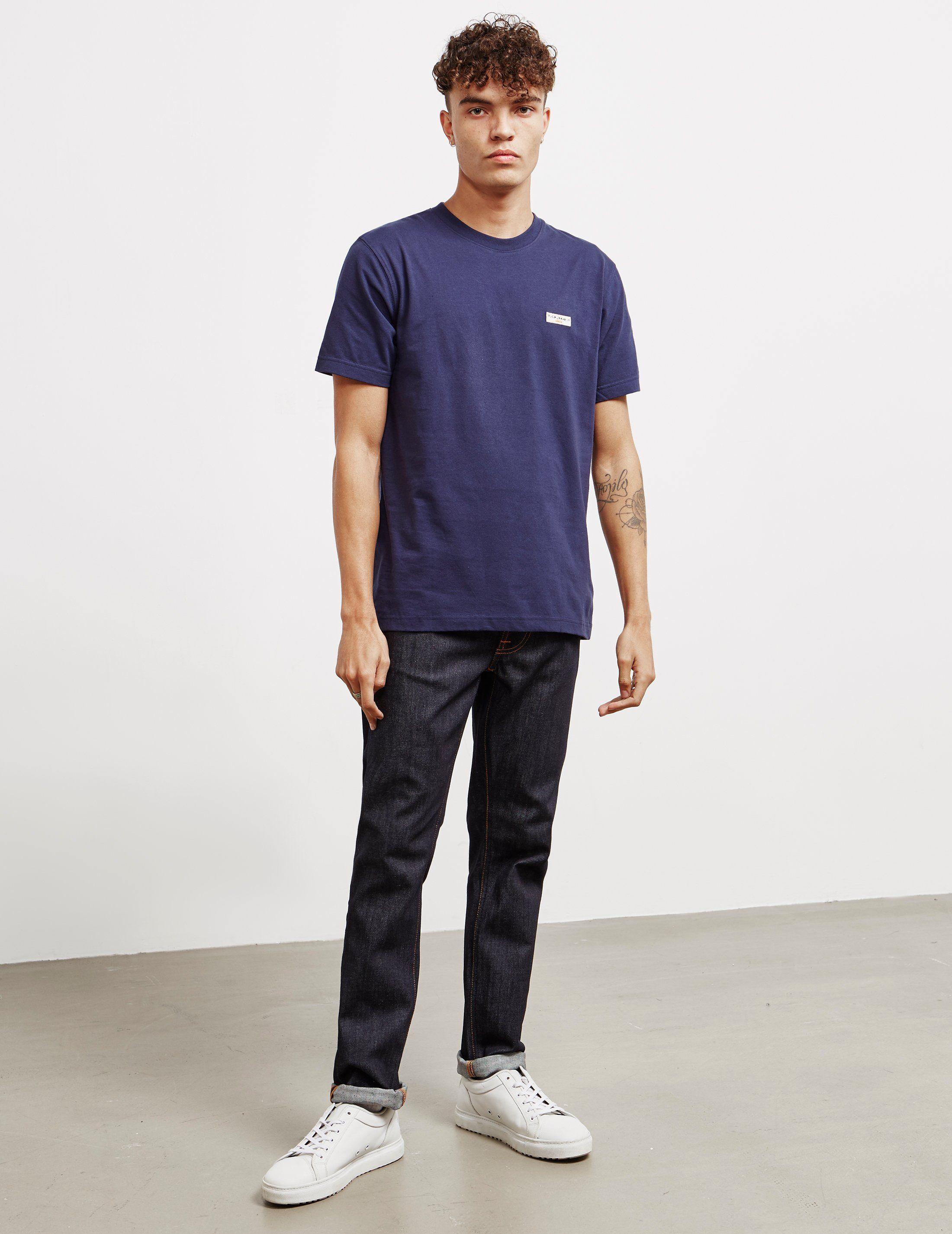 Nudie Jeans Daniel Logo Short Sleeve T-Shirt