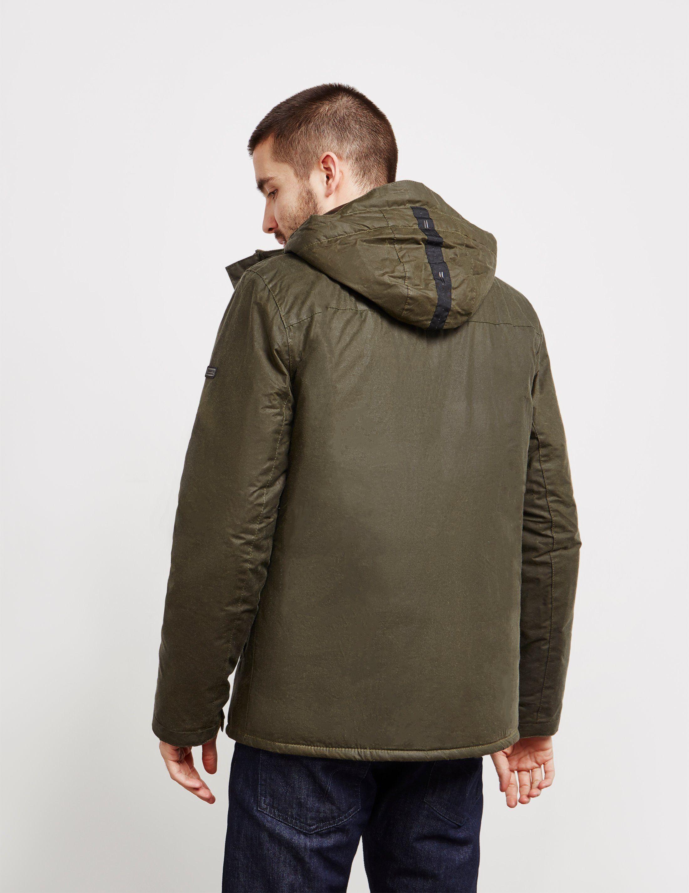 Barbour International Triple Waxed Jacket
