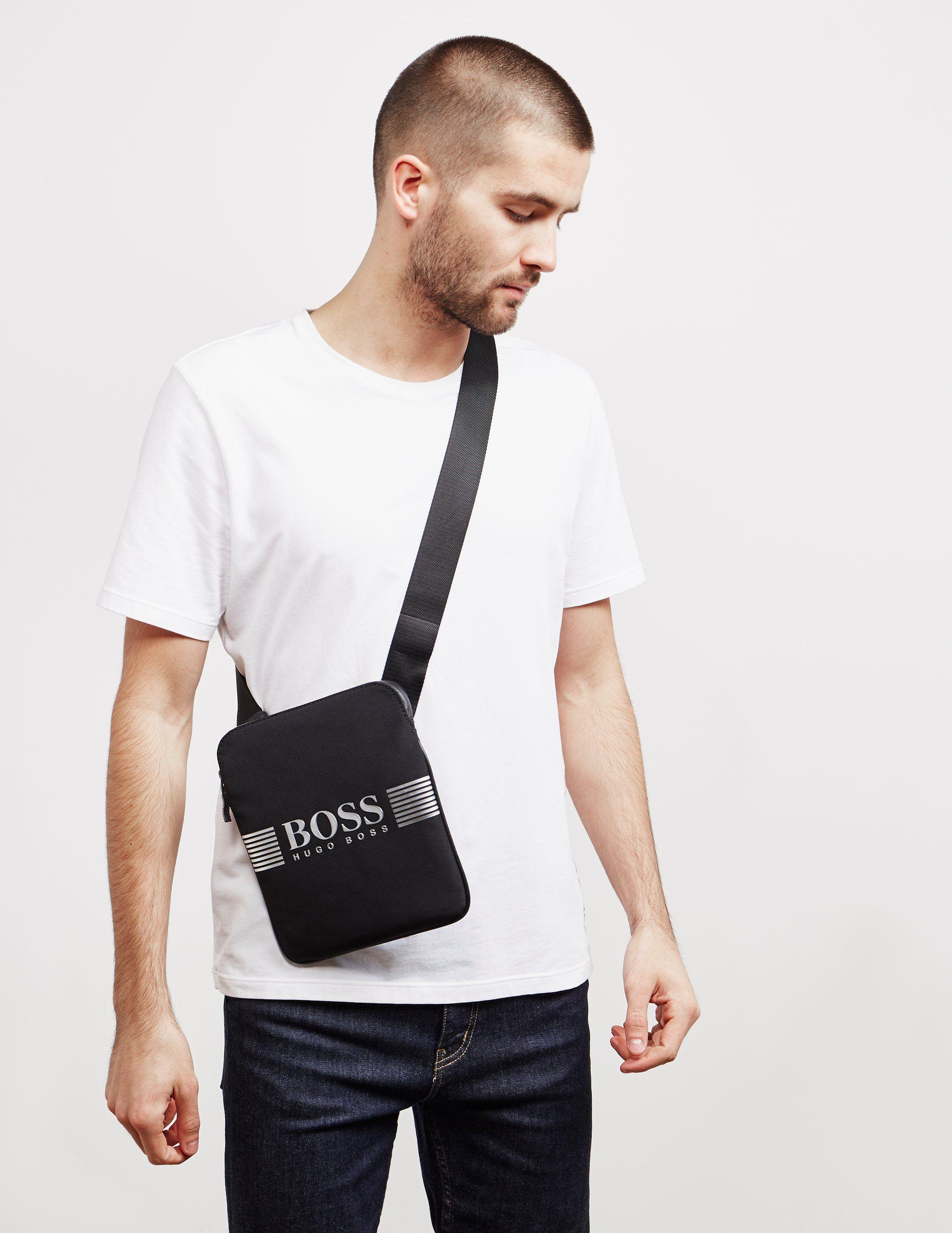 BOSS Pixel Small Item Pouch Bag