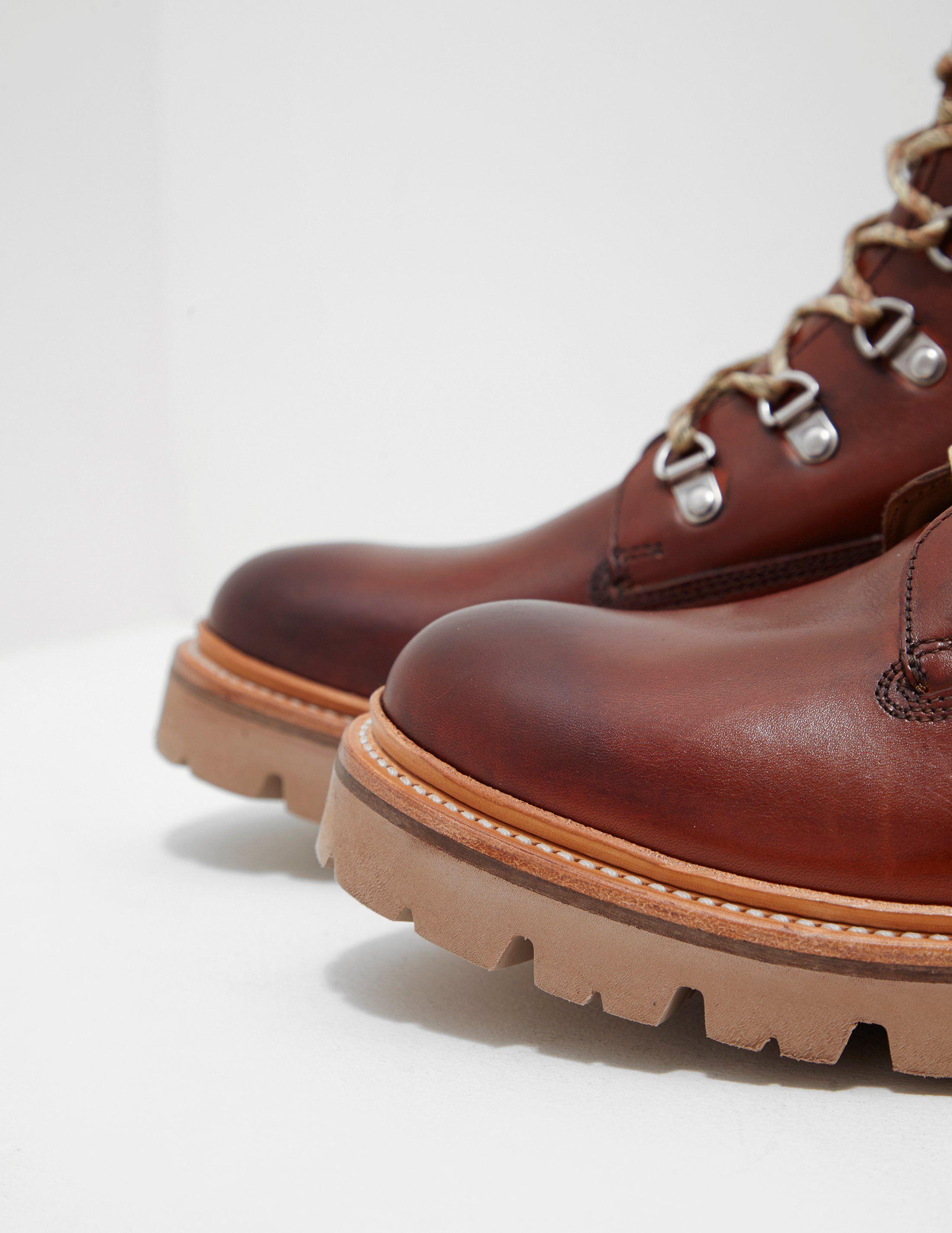 Grenson Rutherhood Leather Boots - Online Exclusive