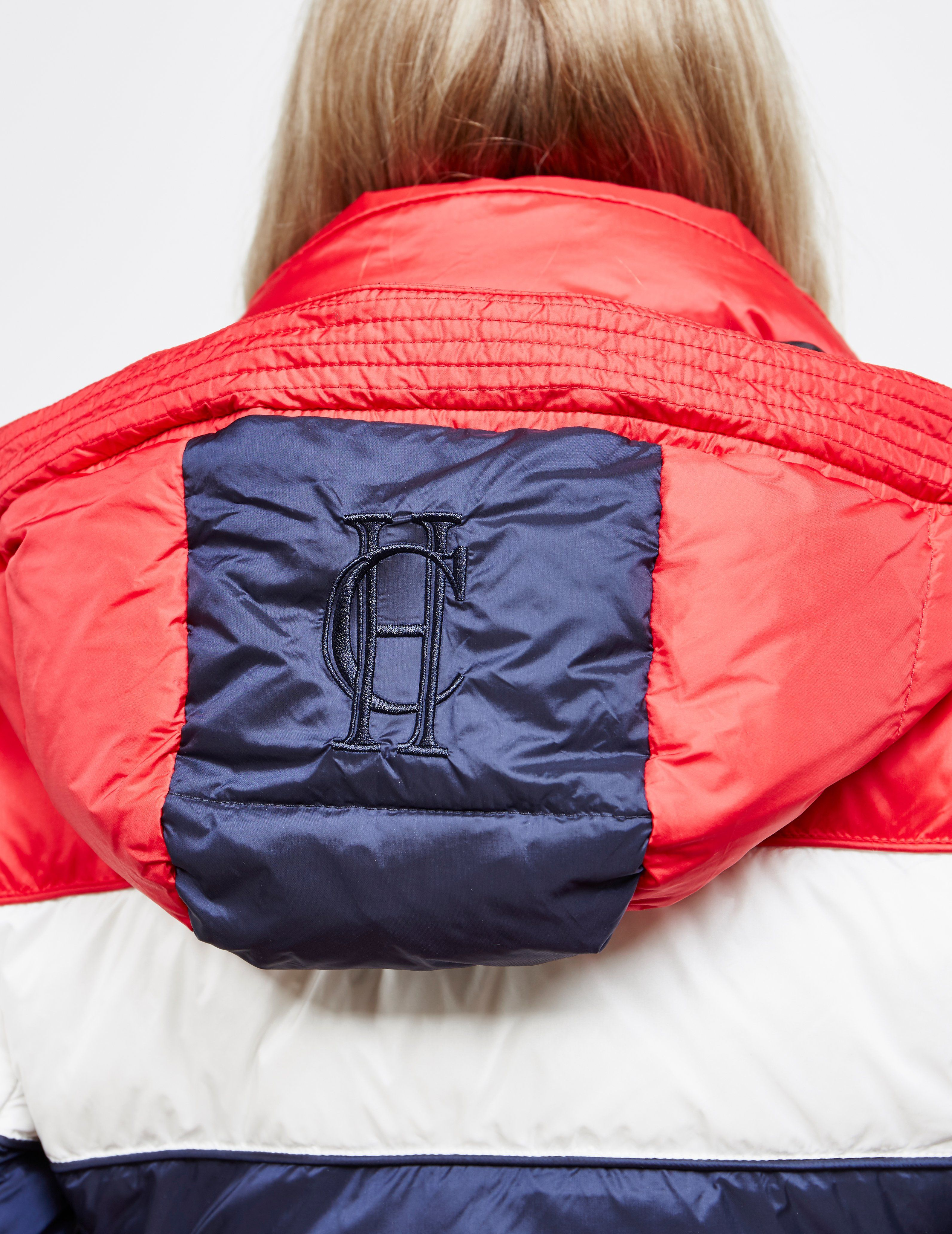 Holland Cooper Megeve Down Padded Tri-Colour Jacket