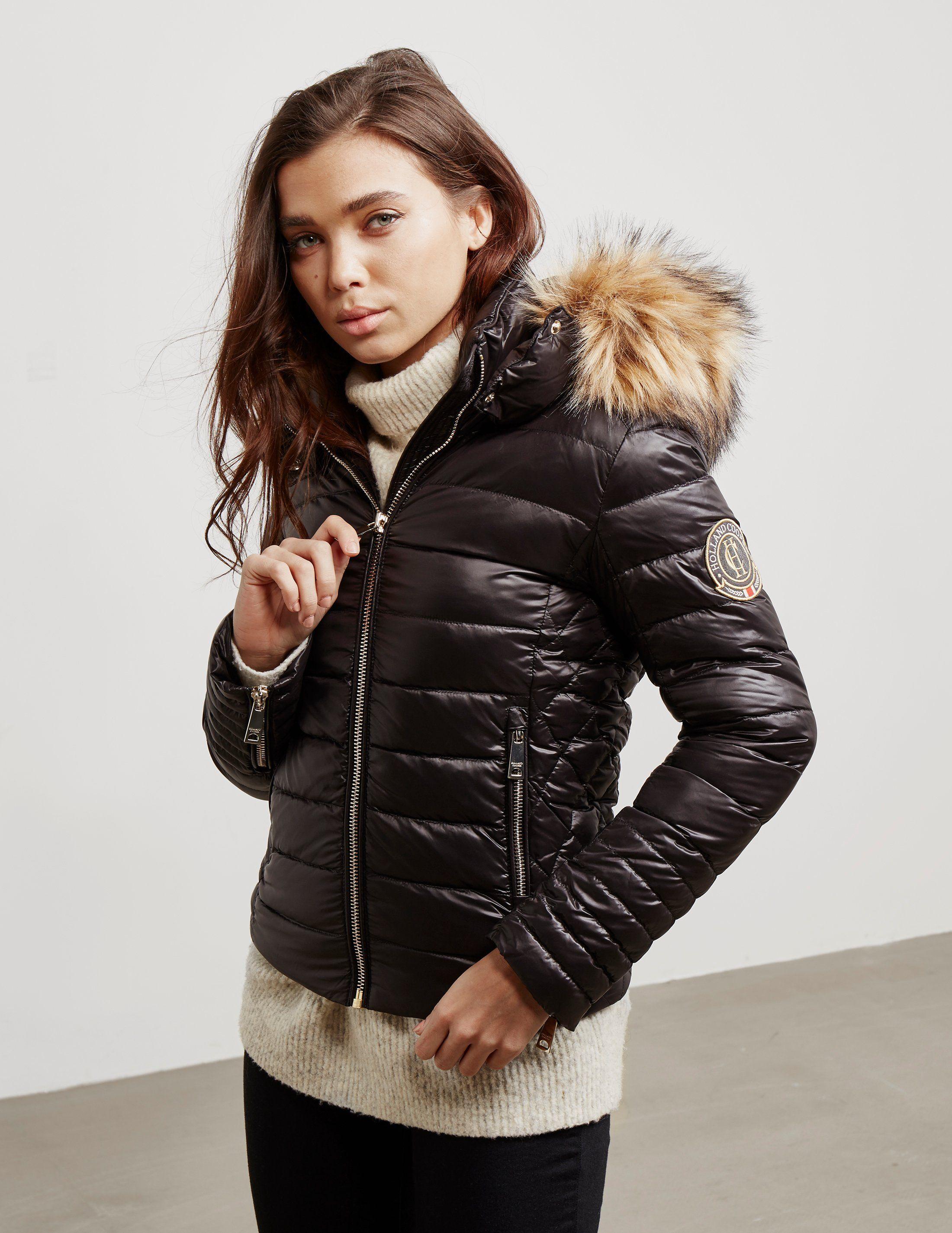 Holland Cooper Zermatt Down Padded Jacket