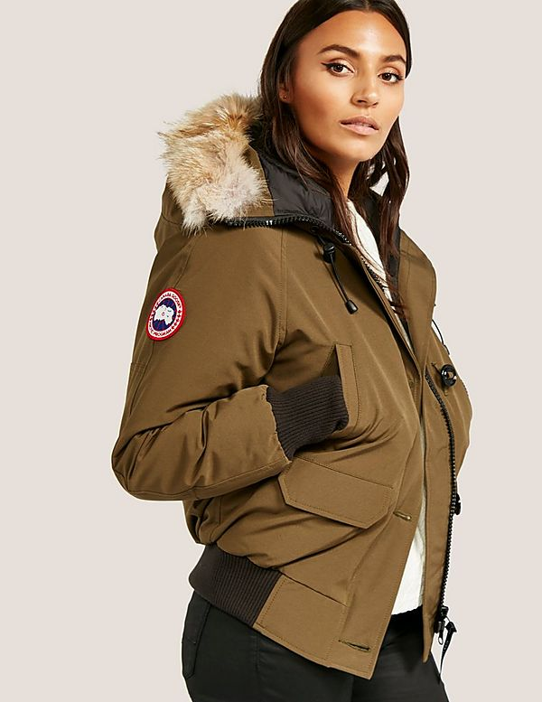 fe5d86a41122 Canada Goose Chilliwack Padded Bomber Jacket