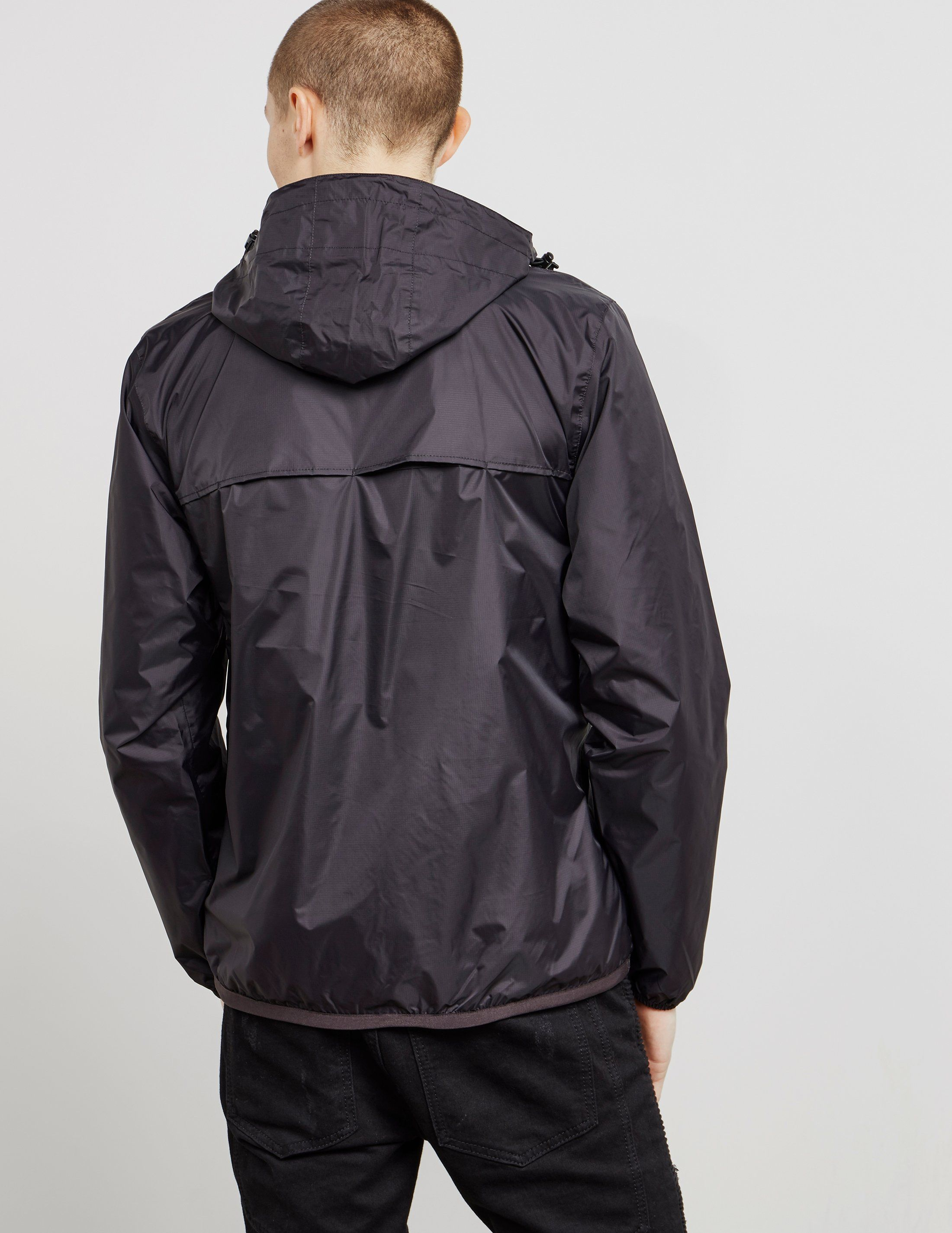 K-Way Le Vrai Leon Half Zip Lightweight Jacket
