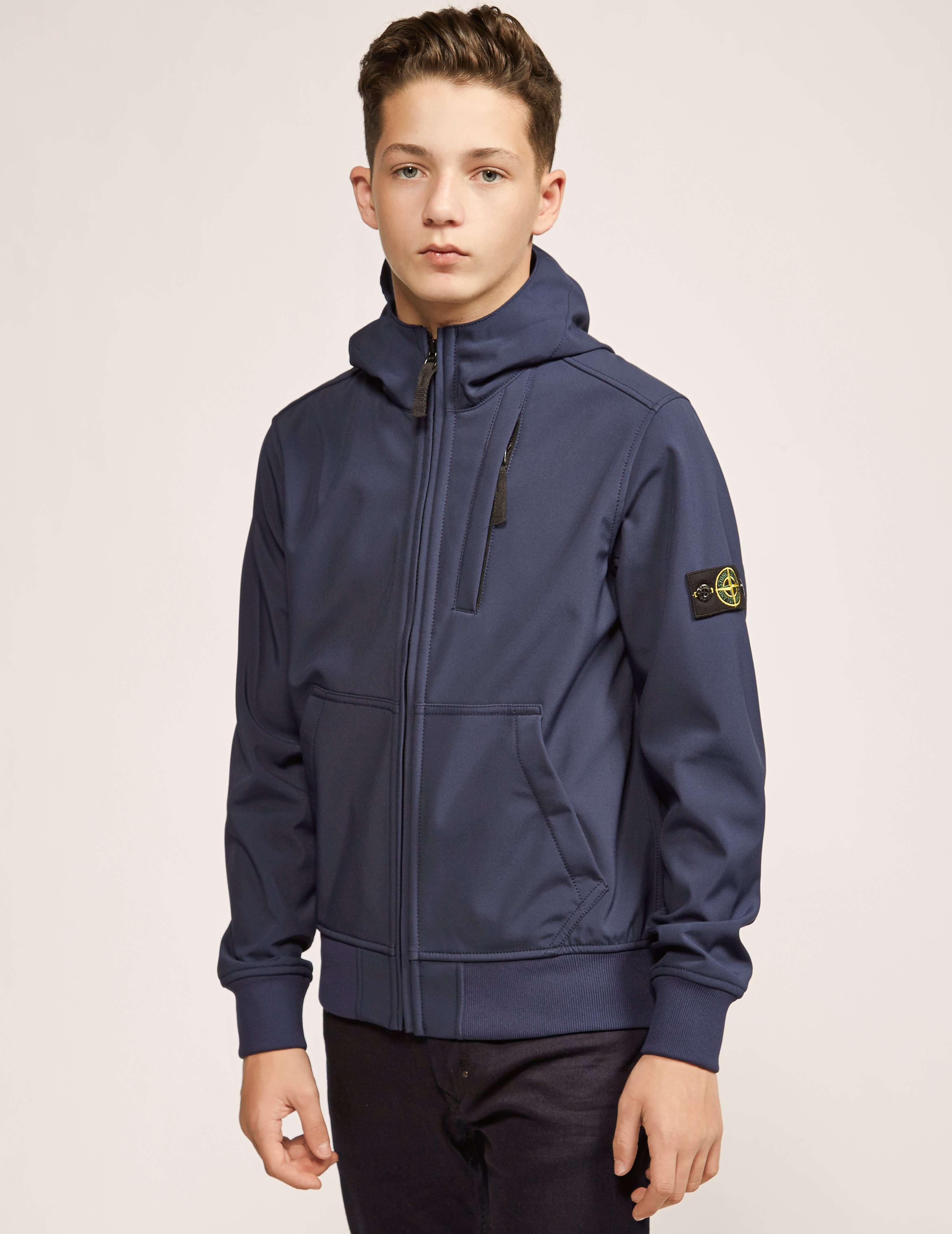 Stone Island Junior Soft Shell Jacket Tessuti