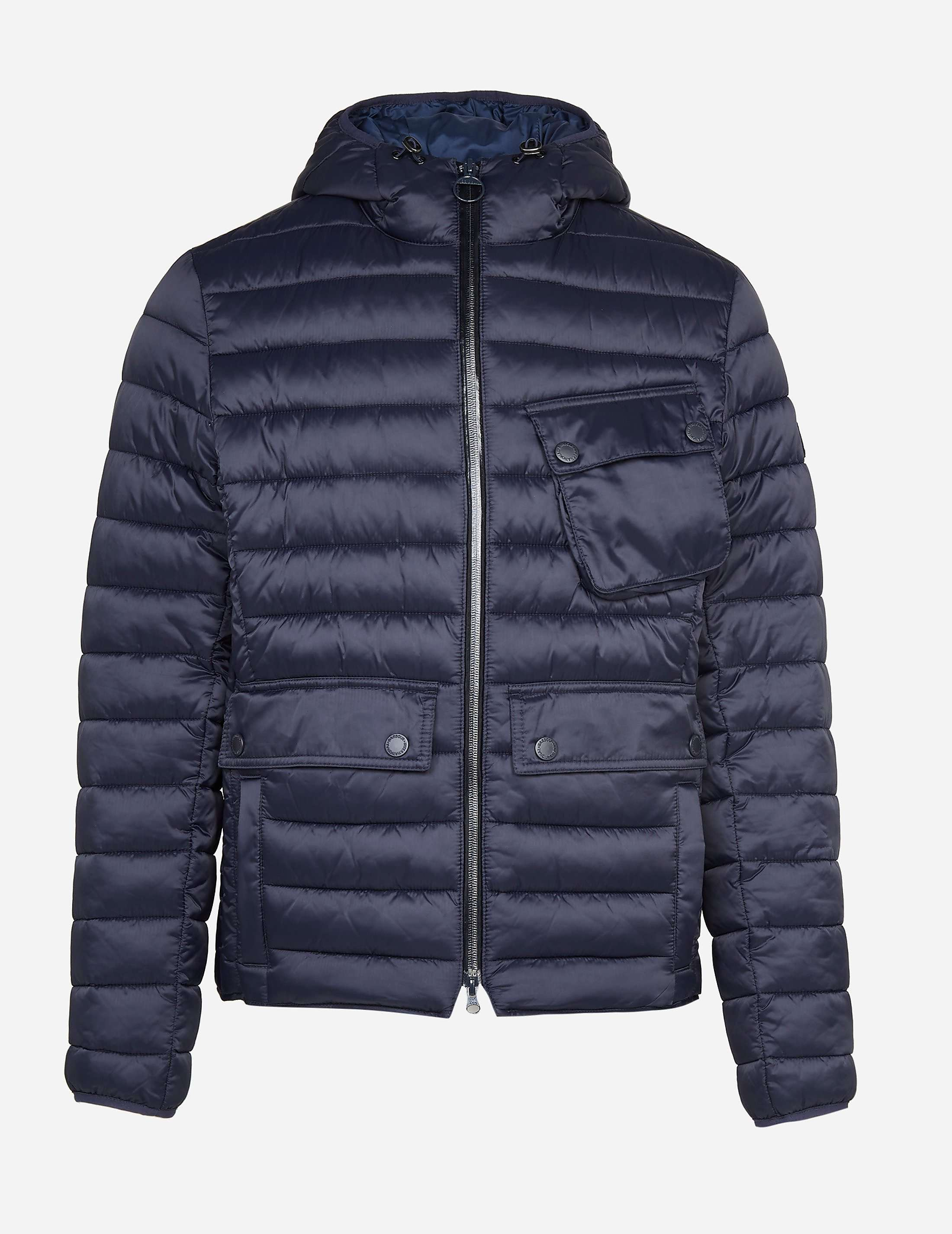 Barbour International Ouston Hood Jacket Tessuti