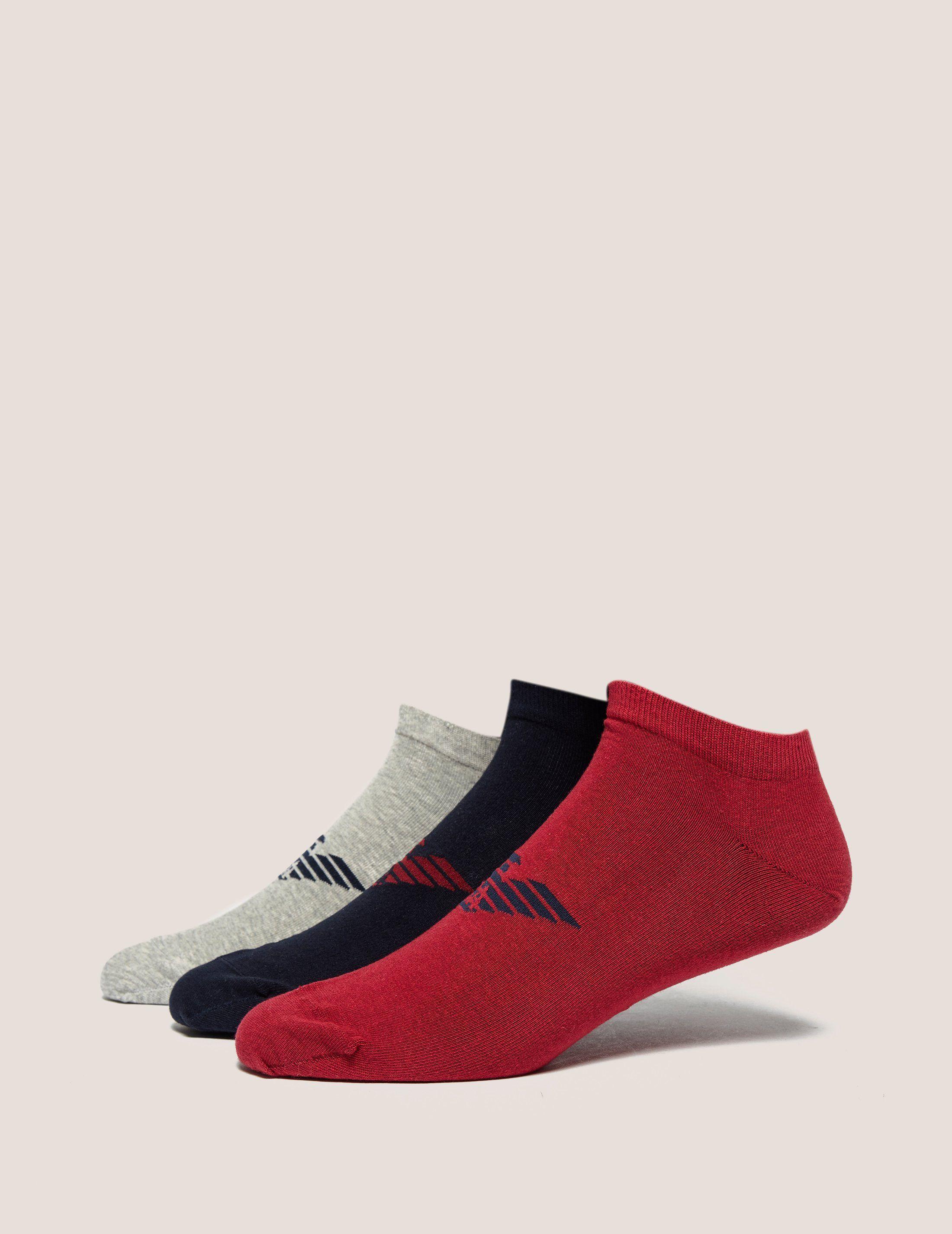 Emporio Armani 3-Pack Training Socks