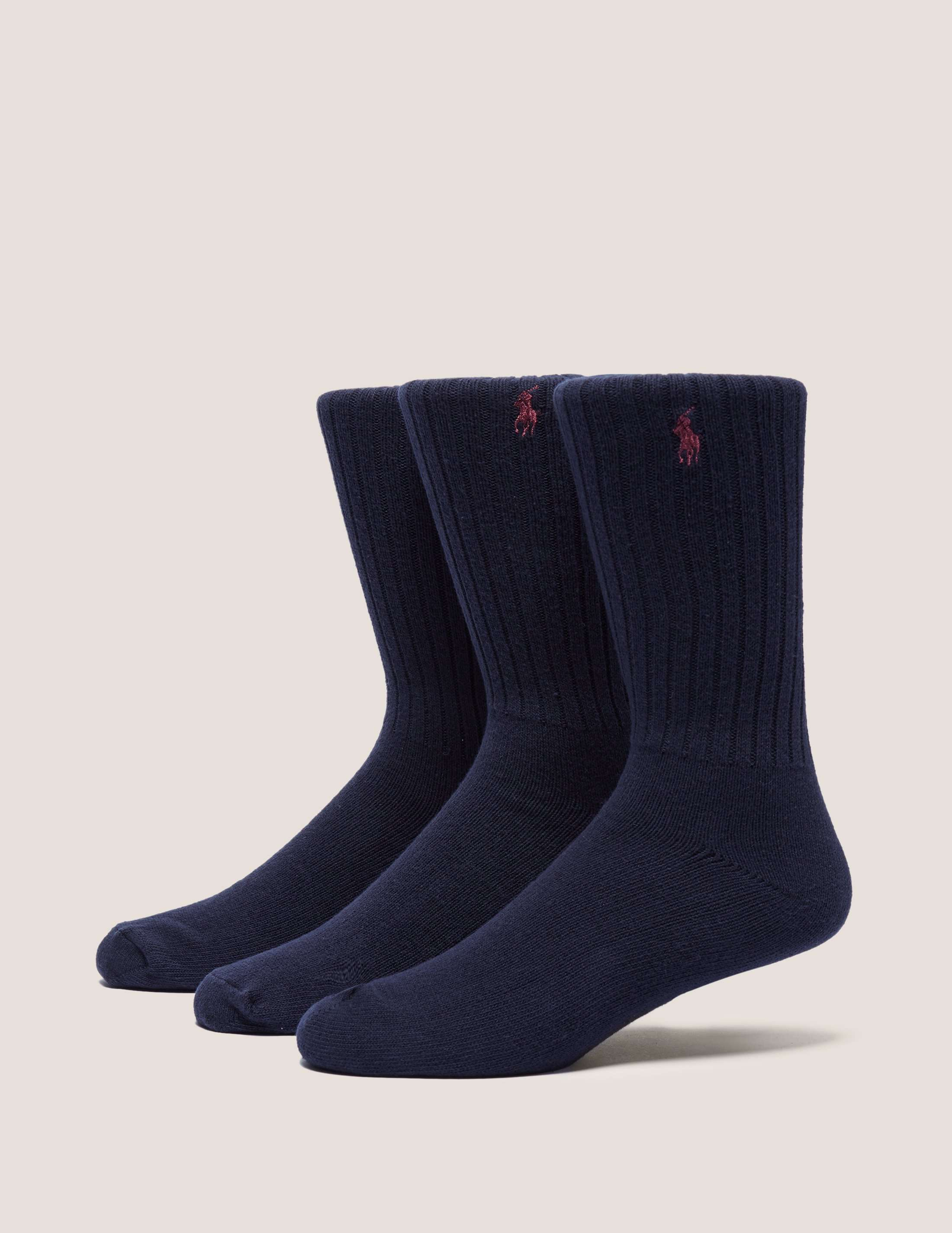 Polo Ralph Lauren 3 Pack Crew Socks