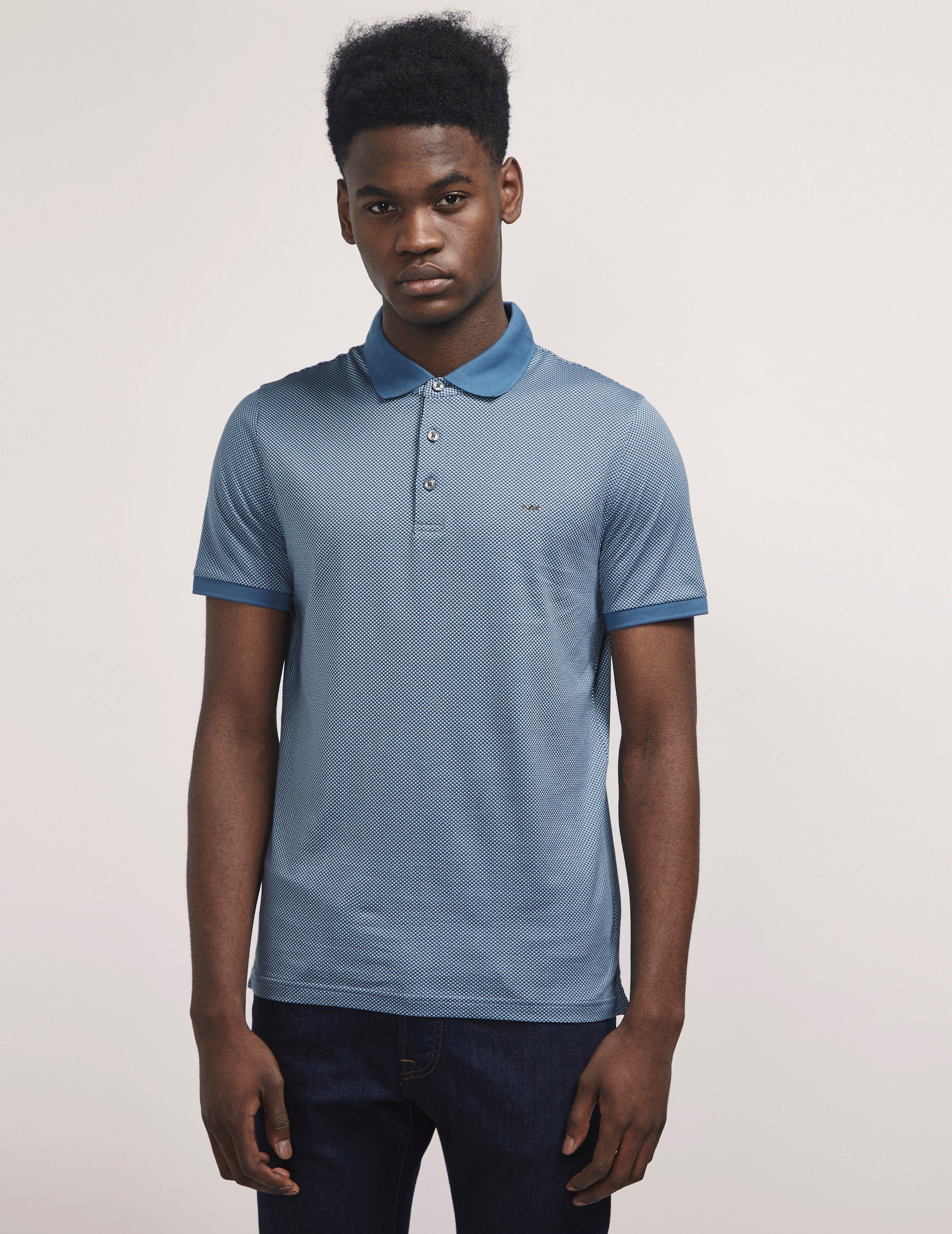 Michael Kors Dot Short Sleeve Polo Shirt