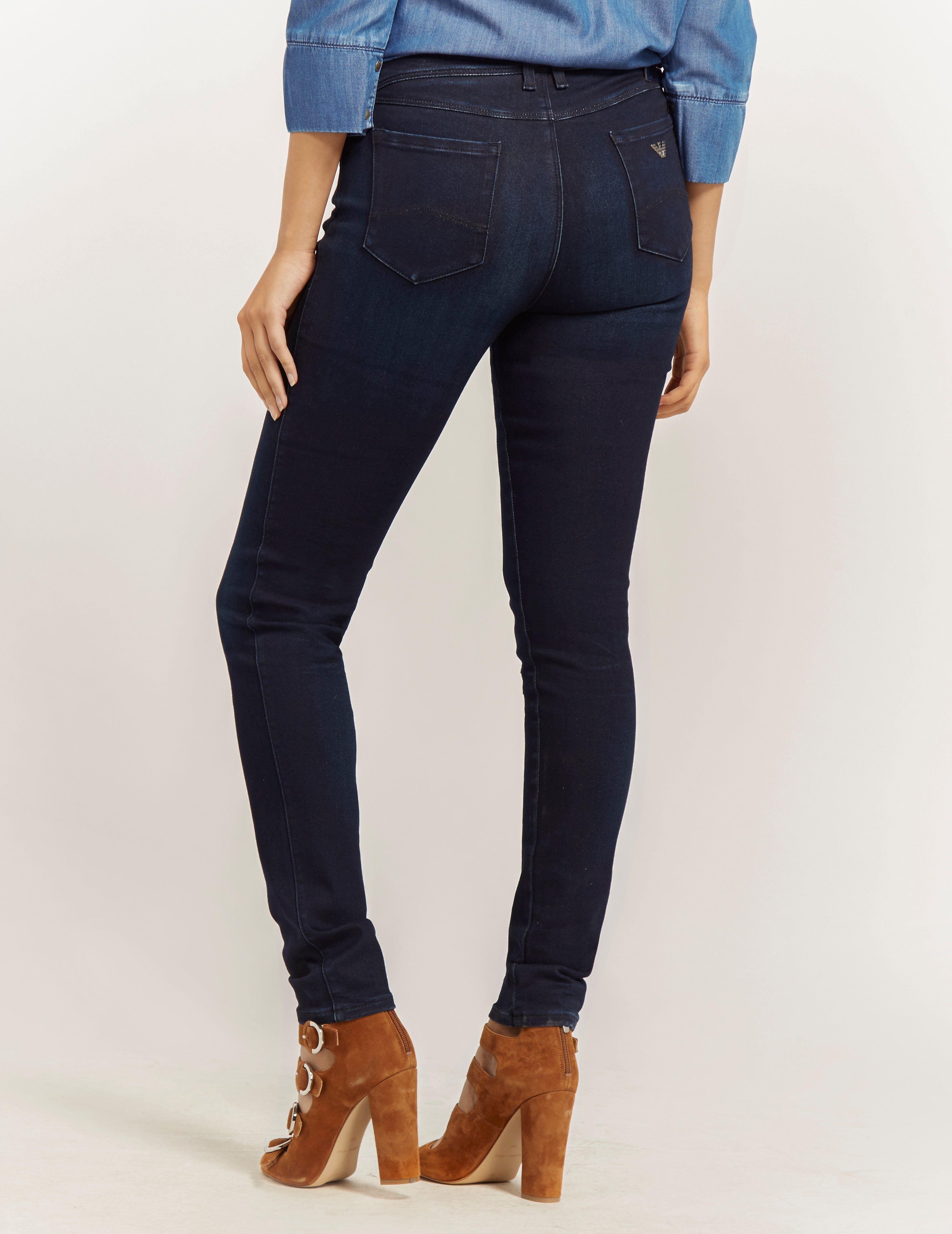 Armani Jeans Mid Waist Skinny Legging