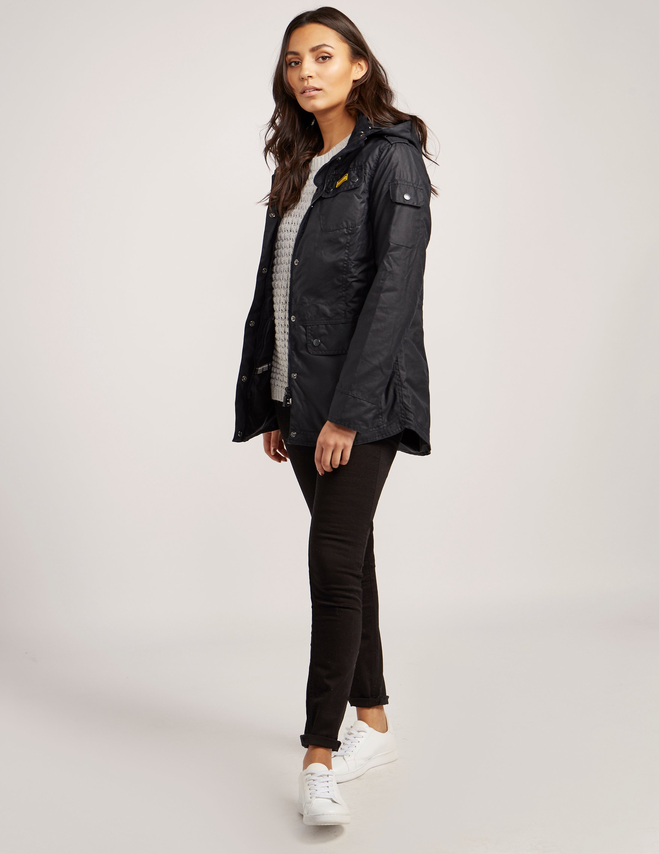 Barbour International Switch Wax Parka Jacket | Tessuti